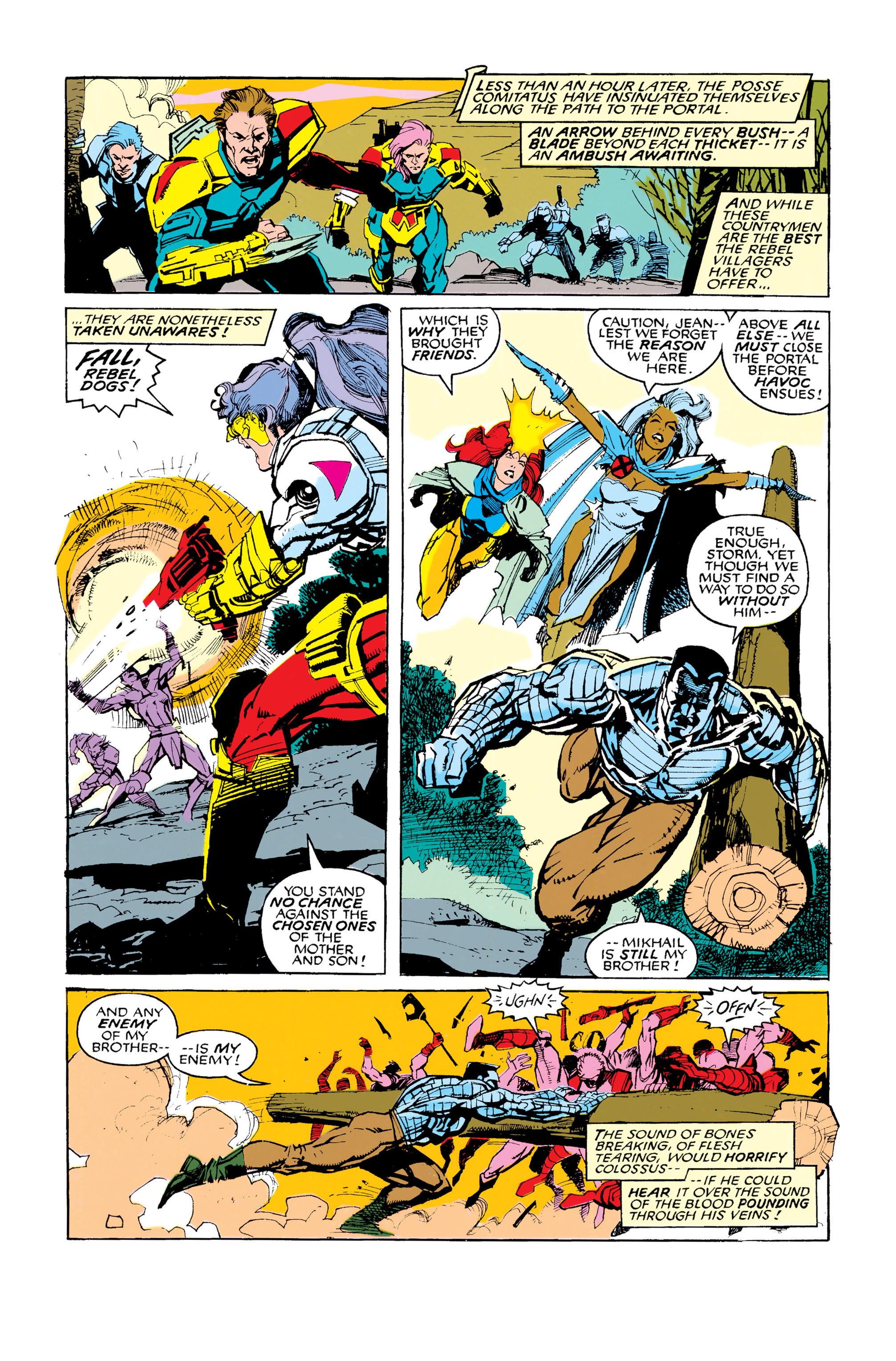 Read online Uncanny X-Men (1963) comic -  Issue #286 - 15