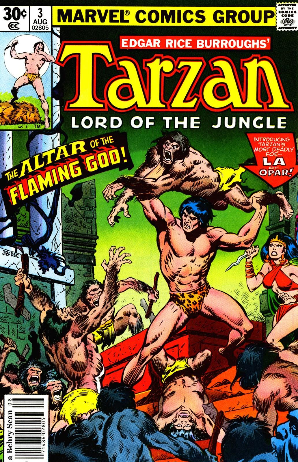 Tarzan (1977) issue 3 - Page 1