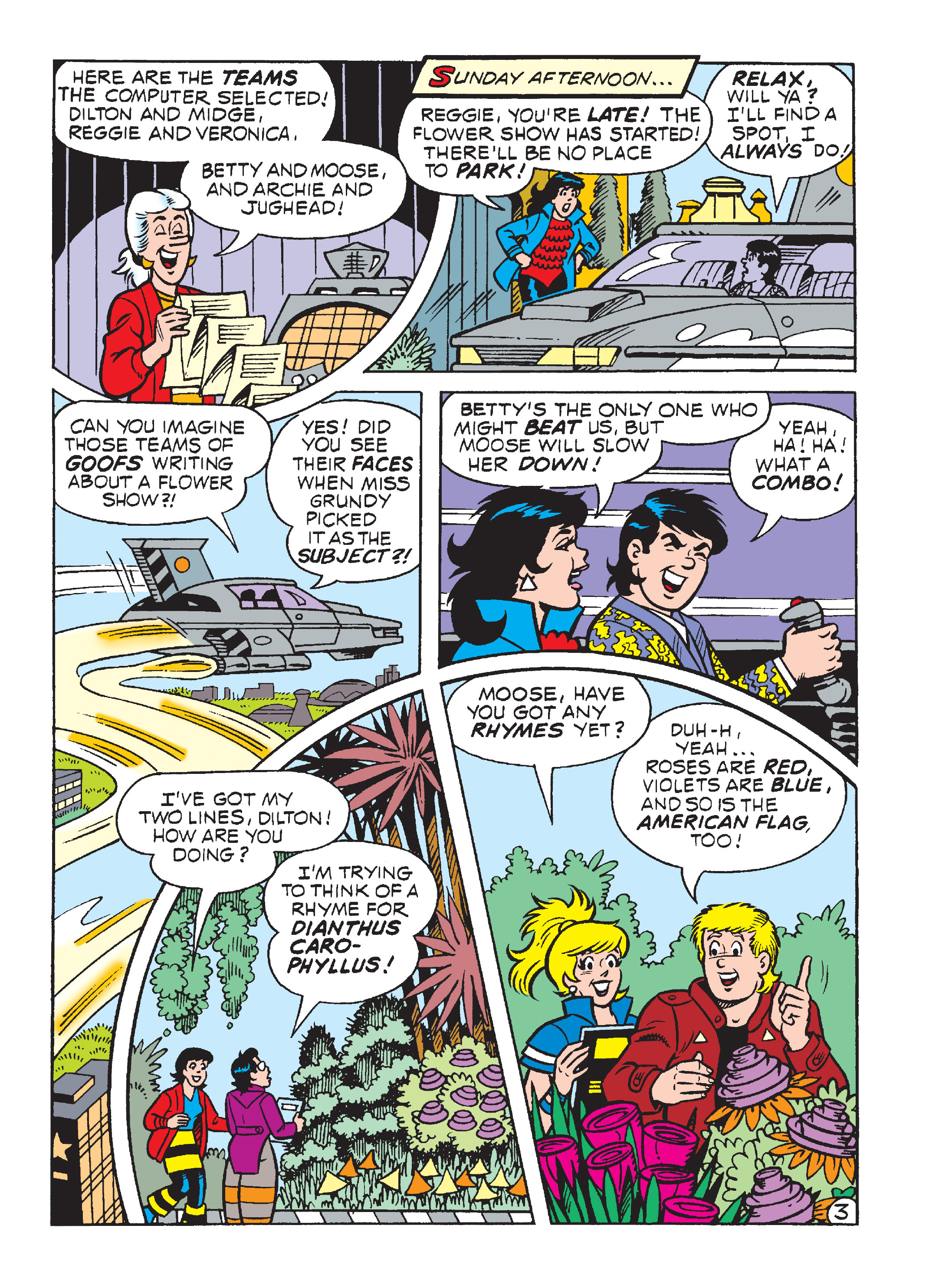 Read online World of Archie Double Digest comic -  Issue #64 - 134