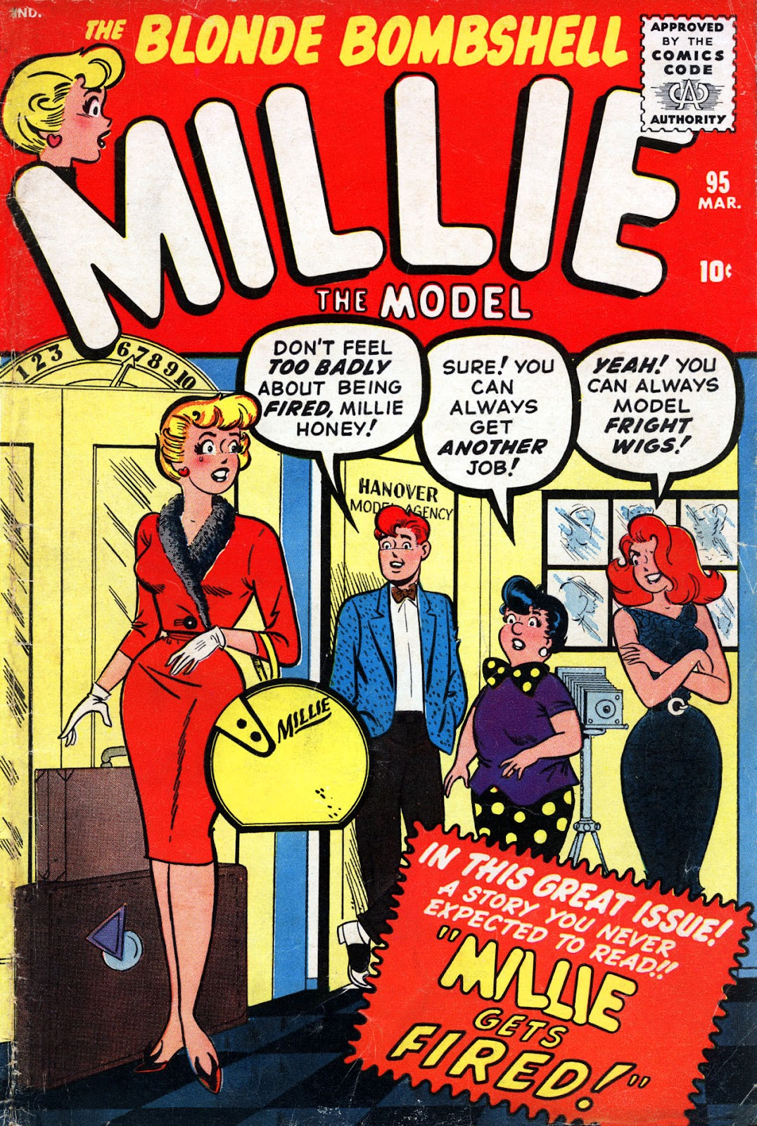 Millie the Model issue 95 - Page 1