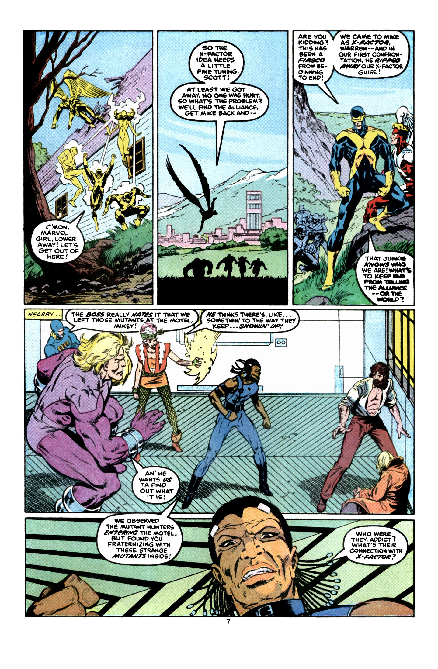 Read online X-Factor (1986) comic -  Issue #6 - 8