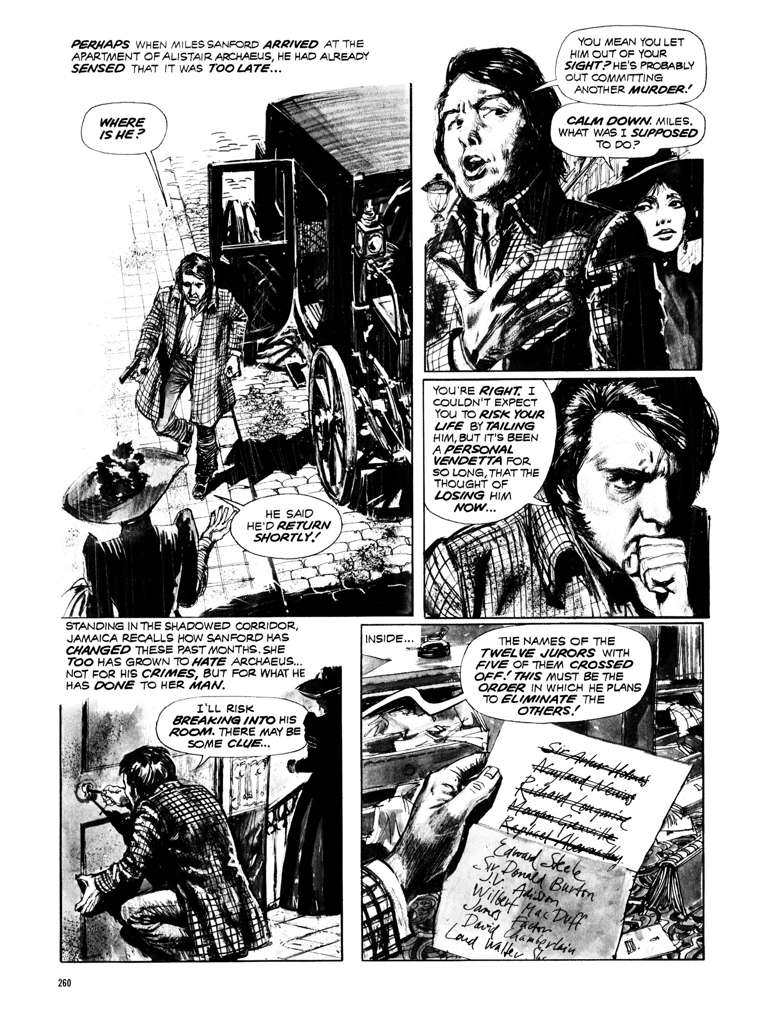 Read online Eerie Archives comic -  Issue # TPB 12 - 261