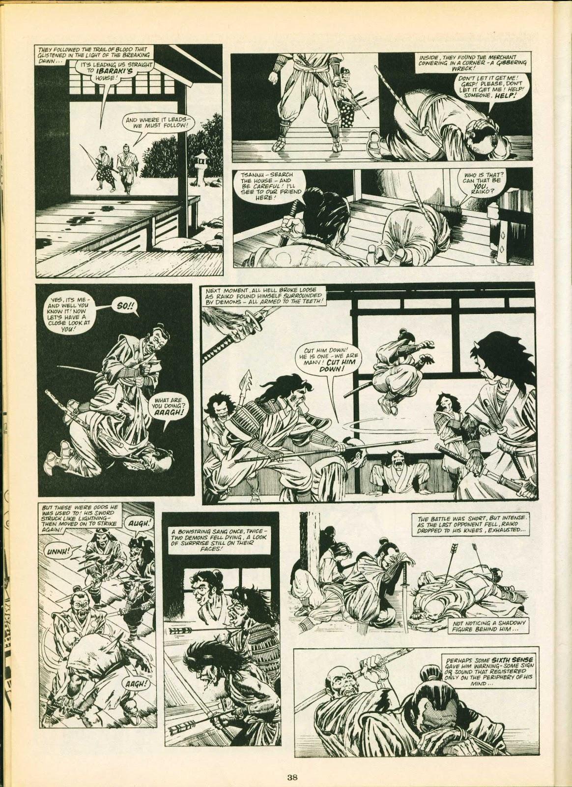 Warrior Issue #18 #19 - English 38