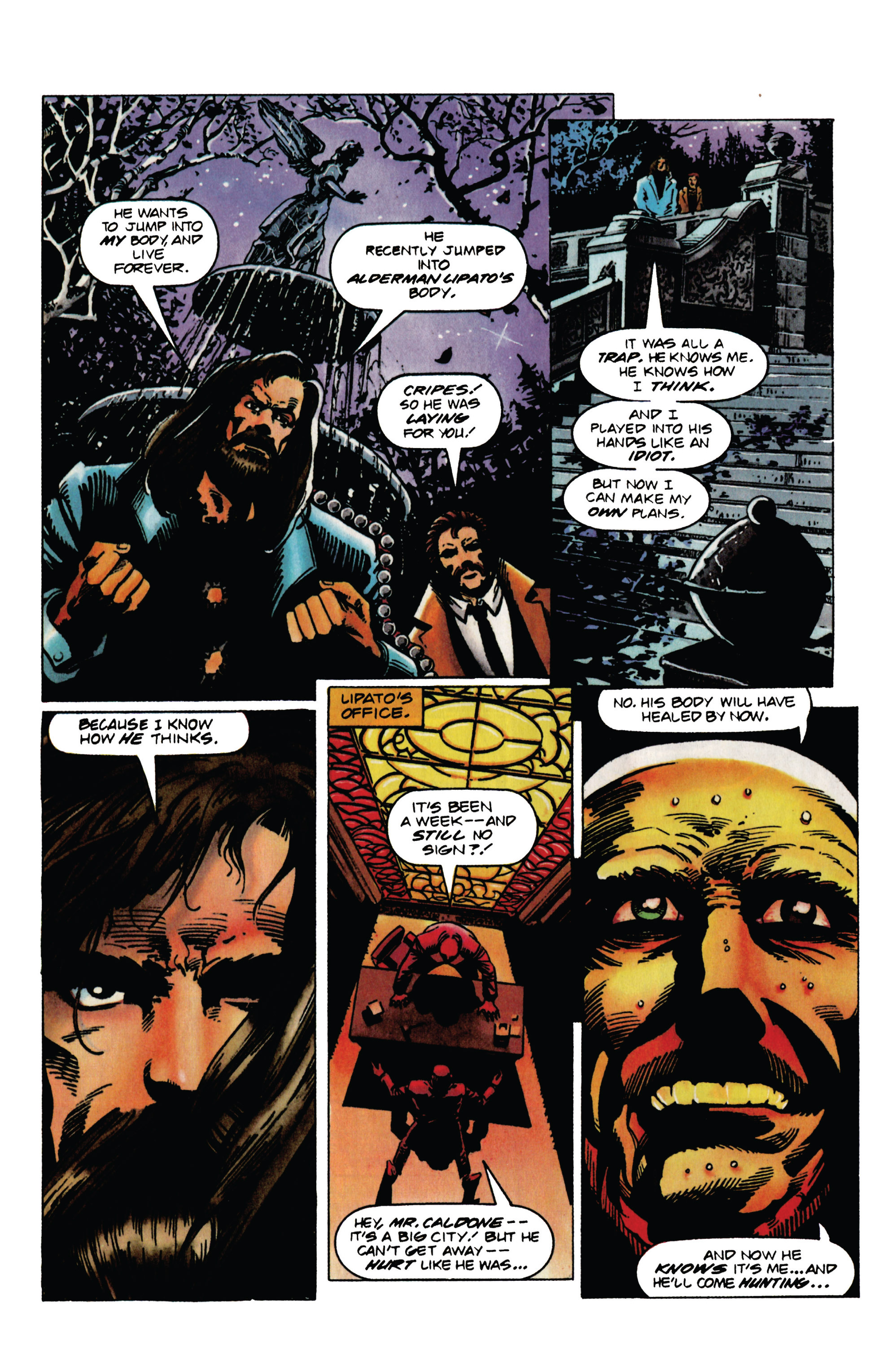 Read online Eternal Warrior (1992) comic -  Issue #31 - 8