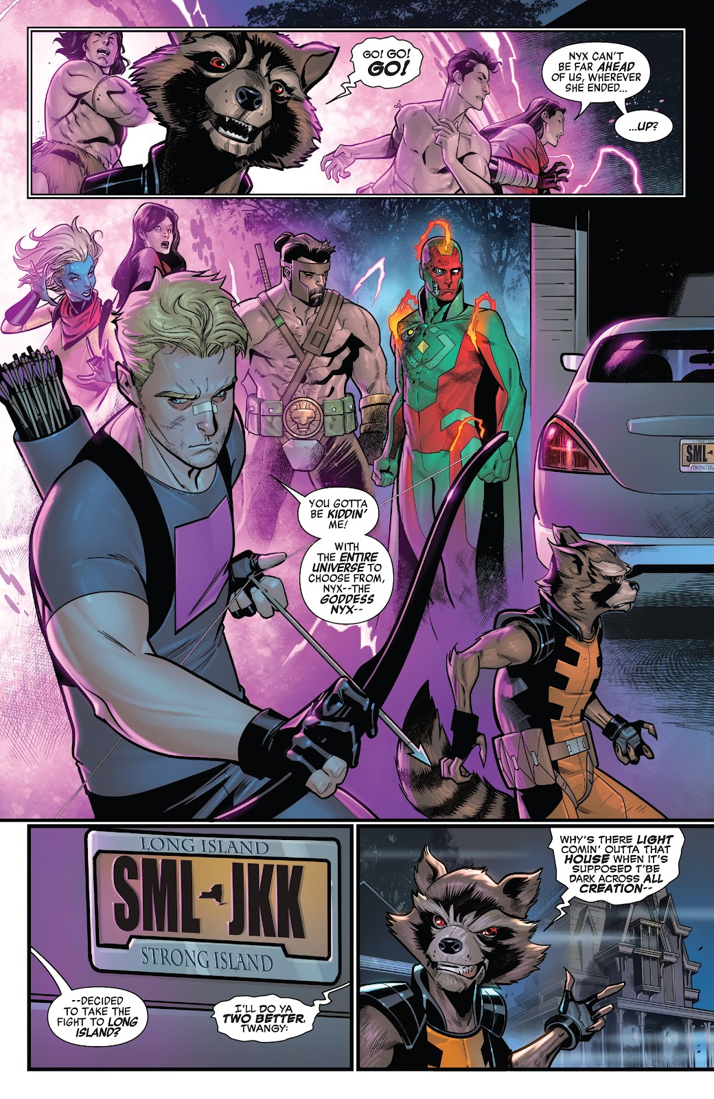 Read online Avengers No Road Home comic -  Issue #9 - 18