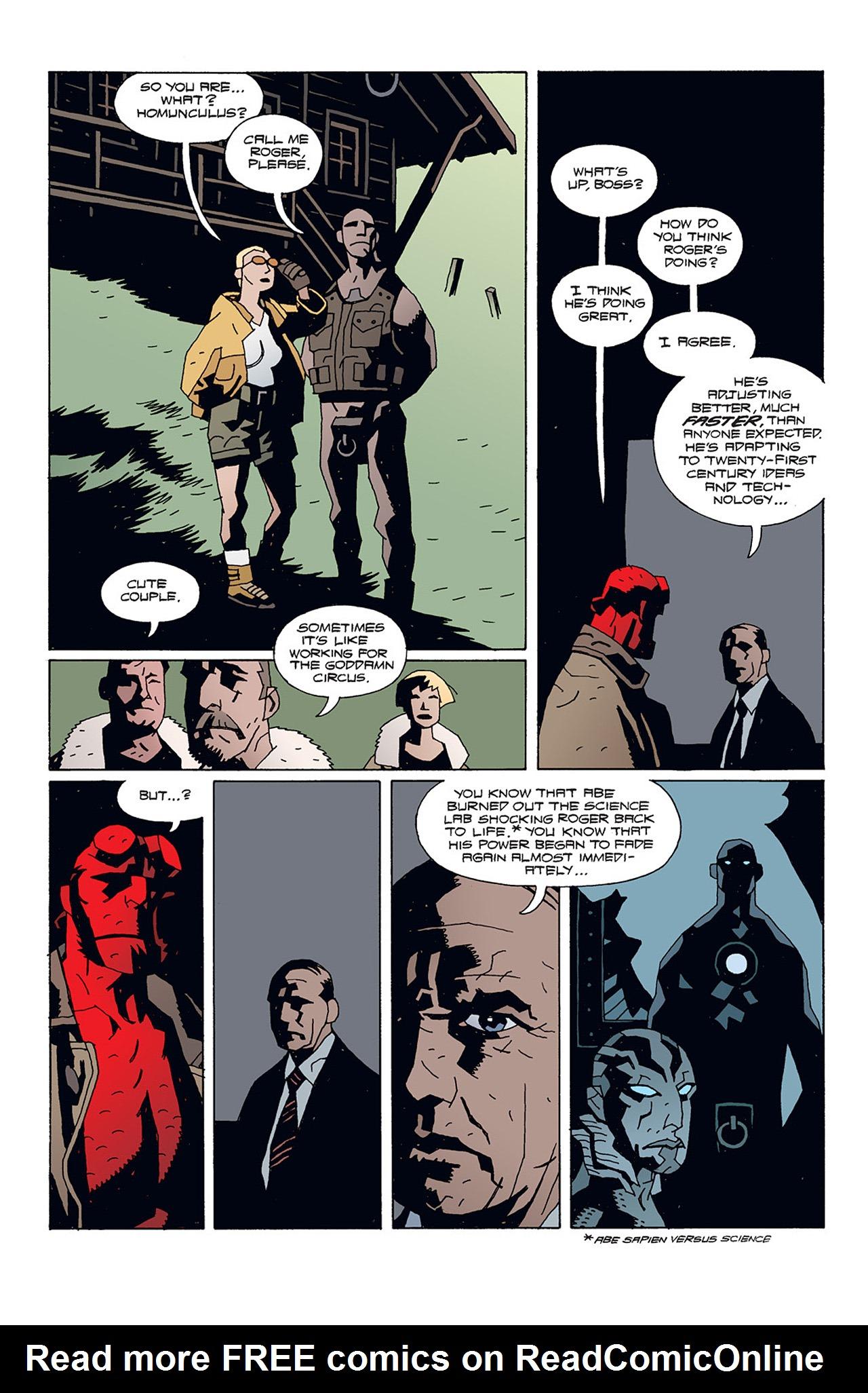 Read online Hellboy: Conqueror Worm comic -  Issue #1 - 13