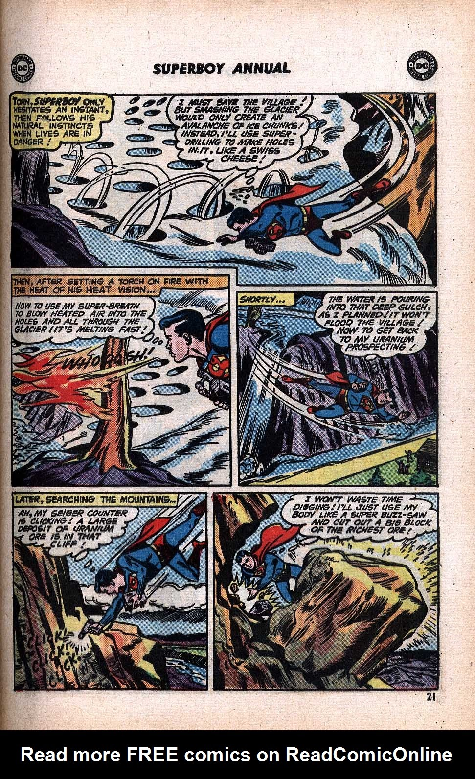 Superboy (1949) issue Annual 1 - Page 23