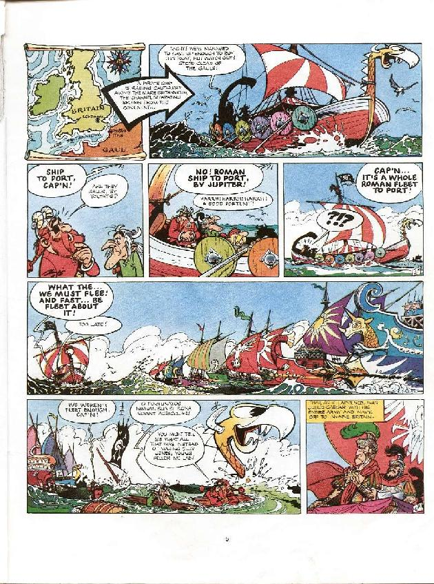 Read online Asterix comic -  Issue #8 - 2