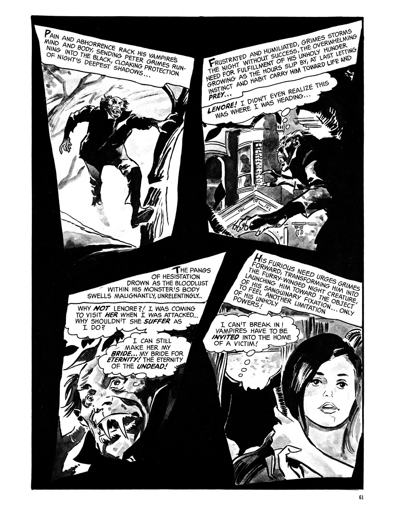 Read online Eerie Archives comic -  Issue # TPB 3 - 62