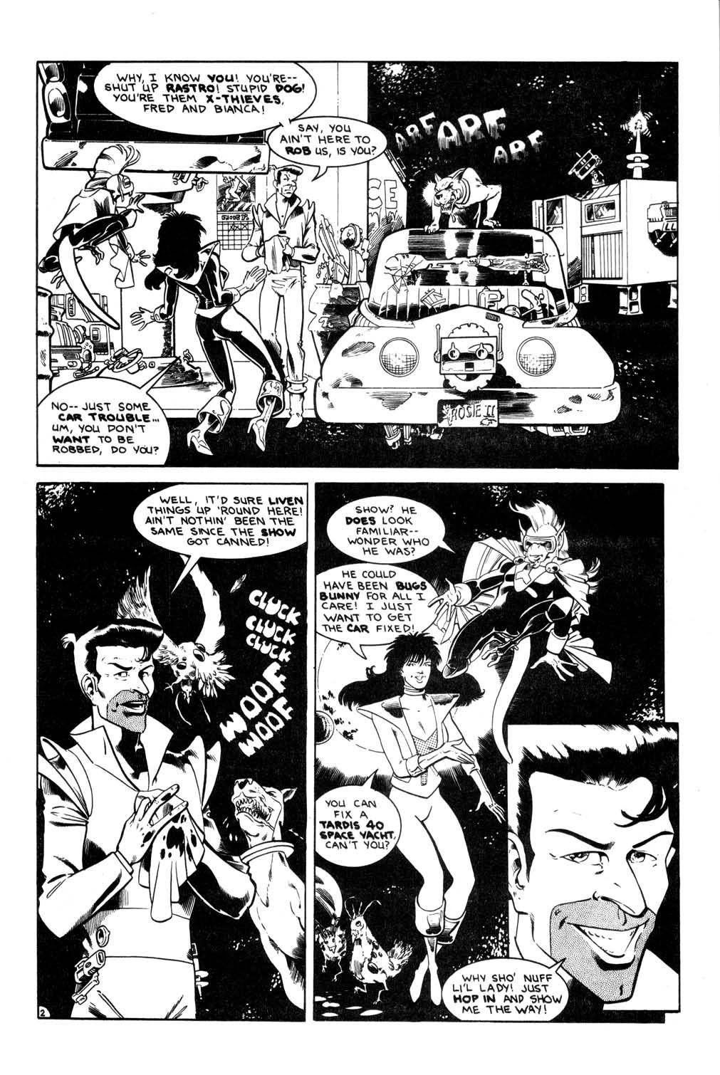 Aristocratic Xtraterrestrial Time-Traveling Thieves issue 7 - Page 4