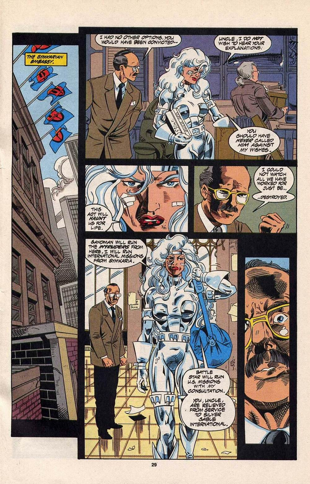 Read online Silver Sable and the Wild Pack comic -  Issue #30 - 22