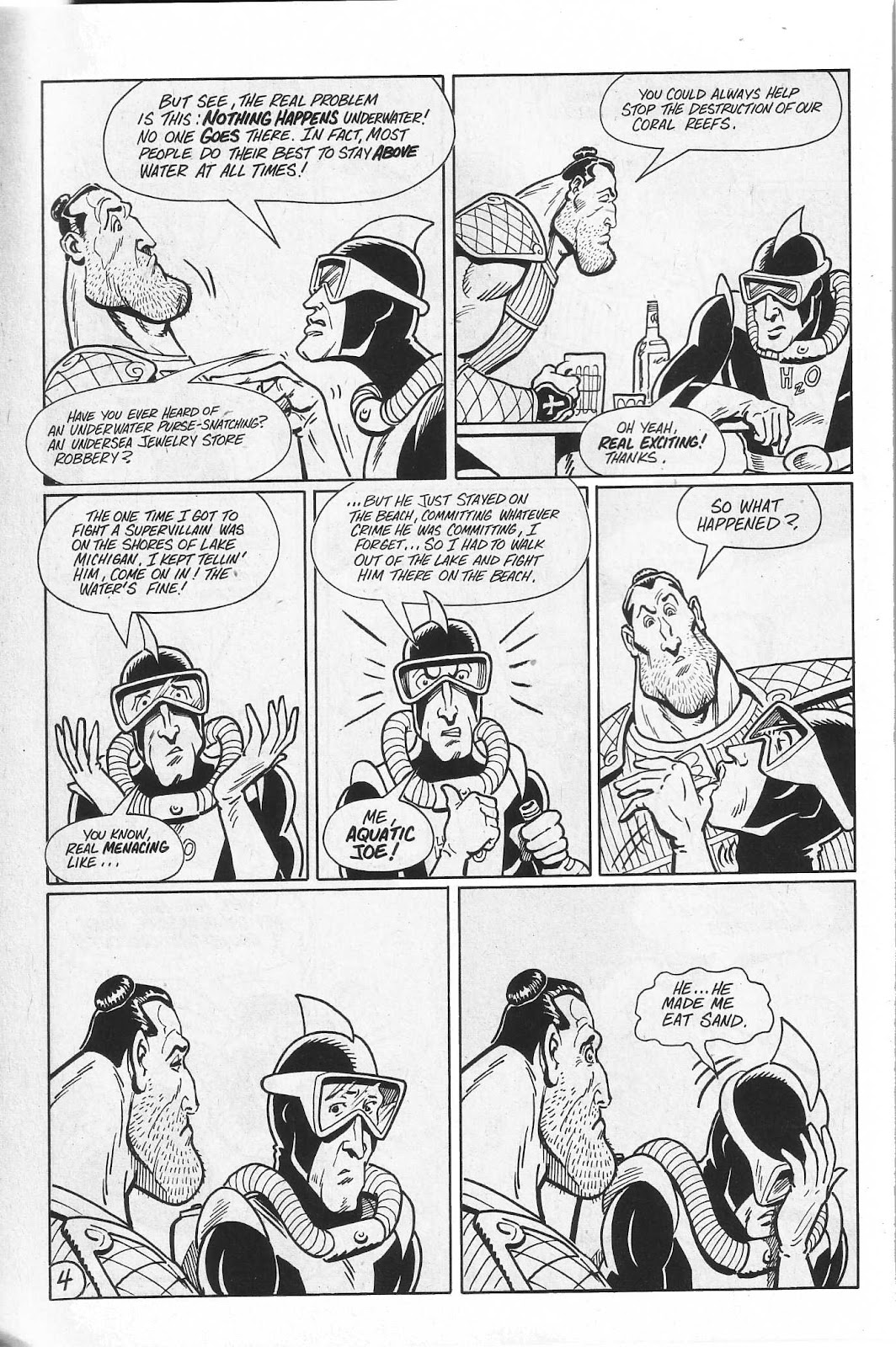 Read online Paul the Samurai (1991) comic -  Issue # TPB - 70