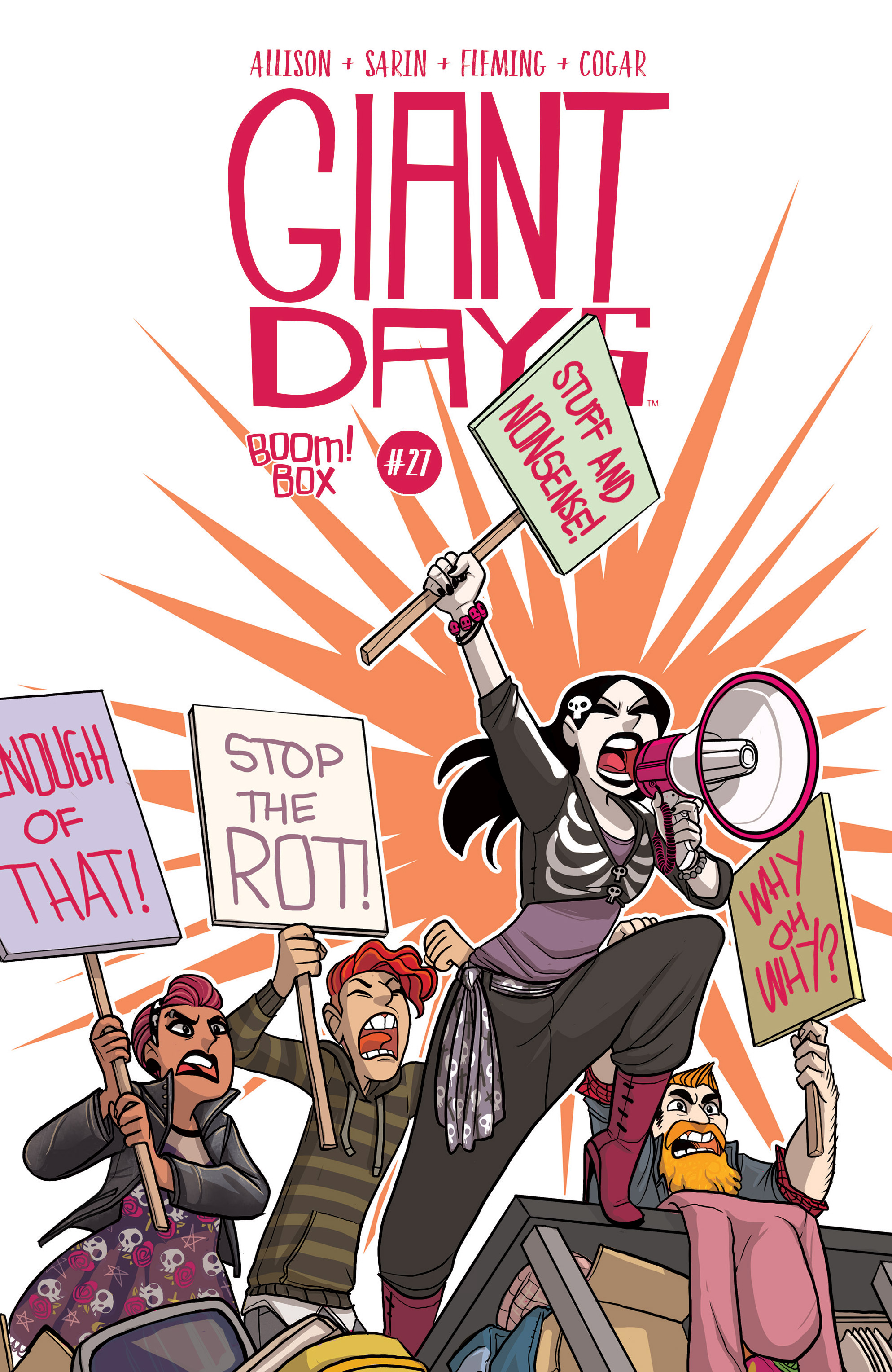 Read online Giant Days (2015) comic -  Issue #27 - 1