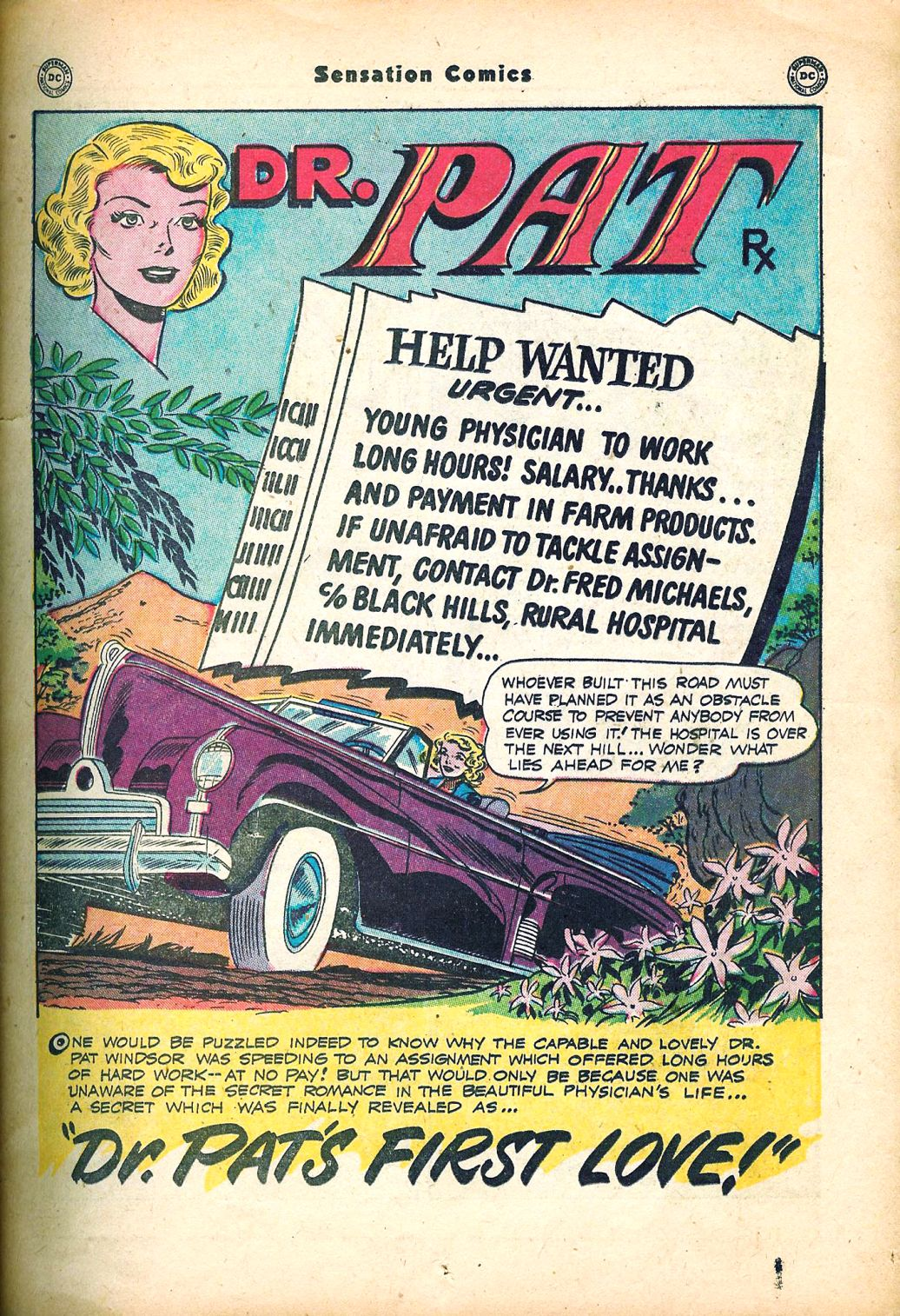 Read online Sensation (Mystery) Comics comic -  Issue #95 - 15