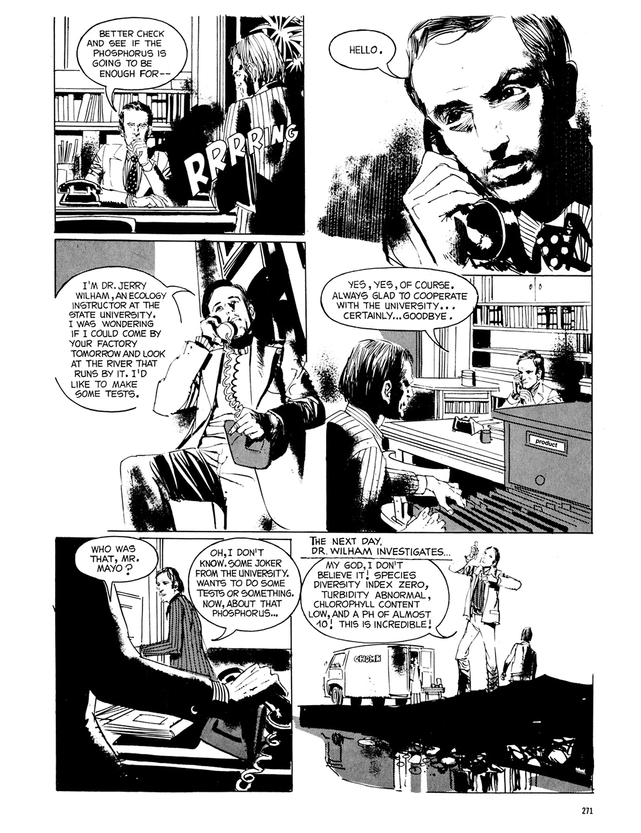 Read online Eerie Archives comic -  Issue # TPB 8 - 272