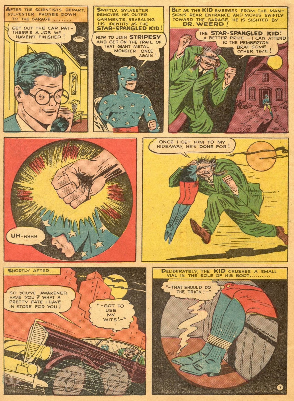 Star Spangled Comics (1941) issue 1 - Page 54