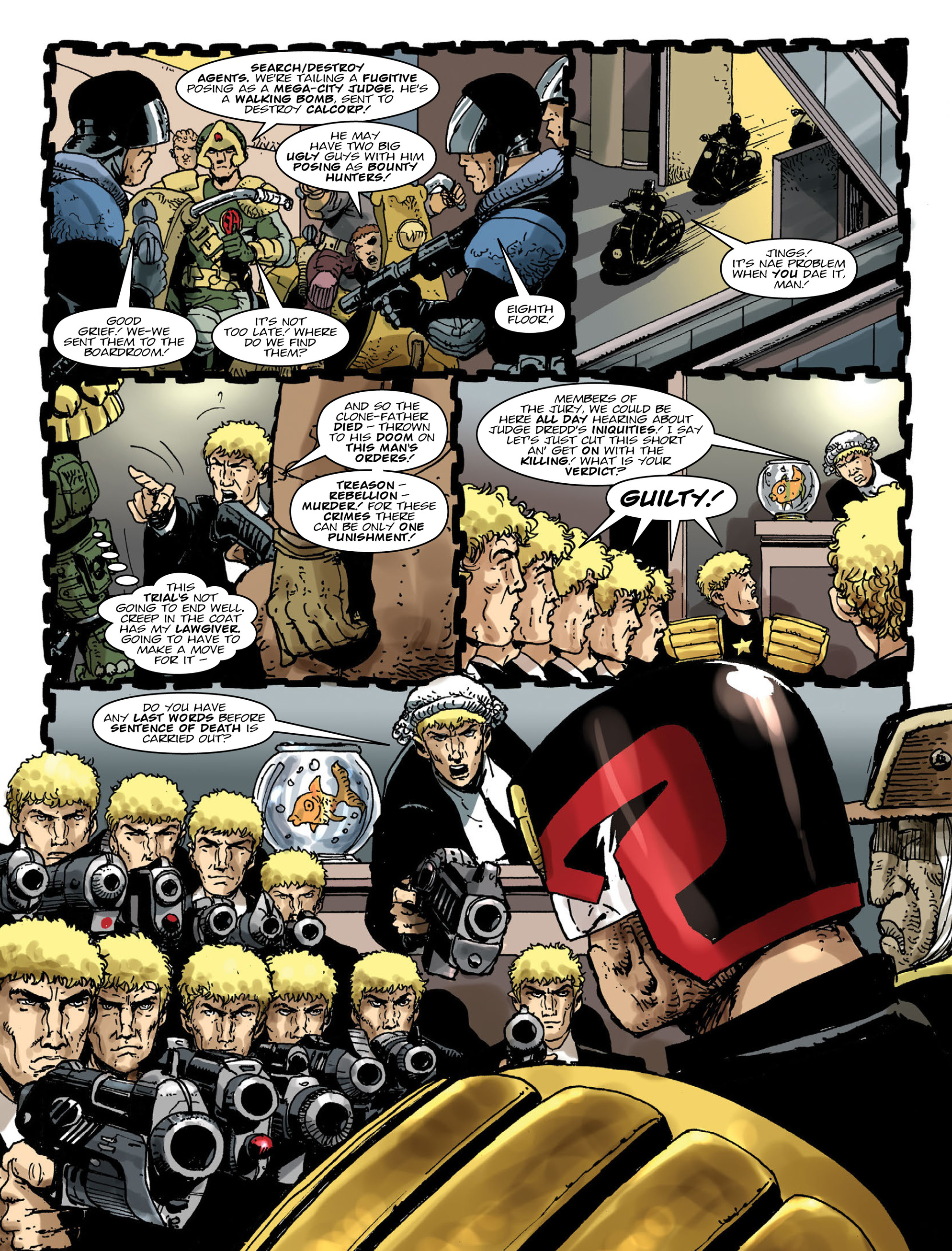 Read online 2000 AD comic -  Issue #2000 - 13