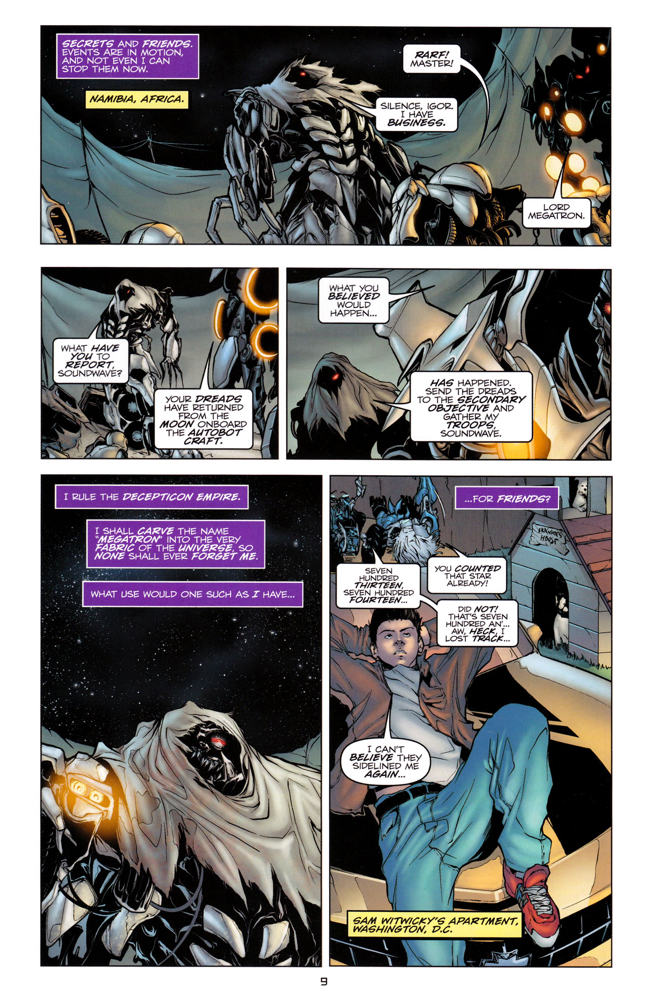 Read online Transformers: Dark of the Moon Movie Adaptation comic -  Issue #2 - 11
