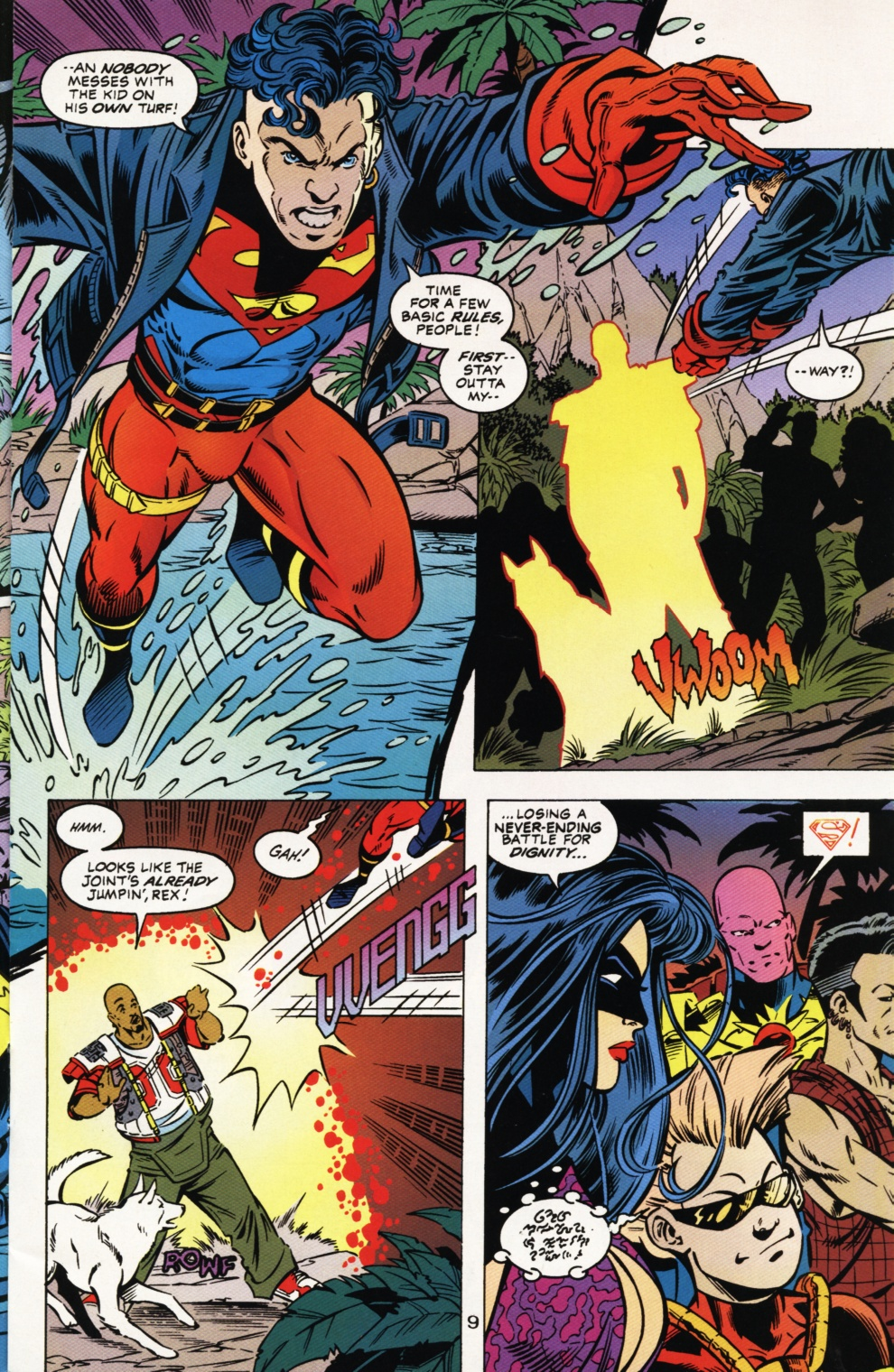 Read online Superboy & The Ravers comic -  Issue #1 - 10