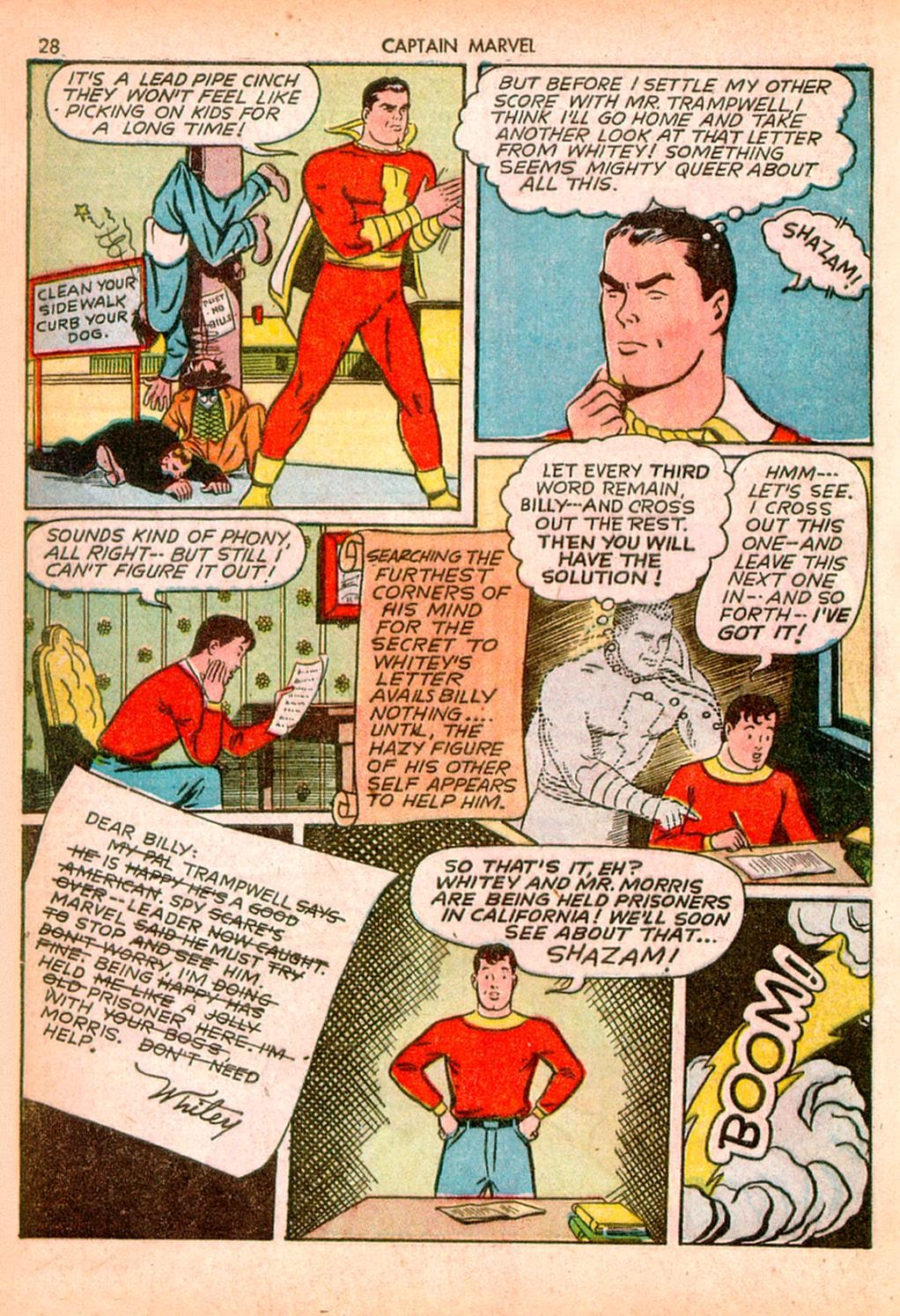 Captain Marvel Adventures issue 10 - Page 28