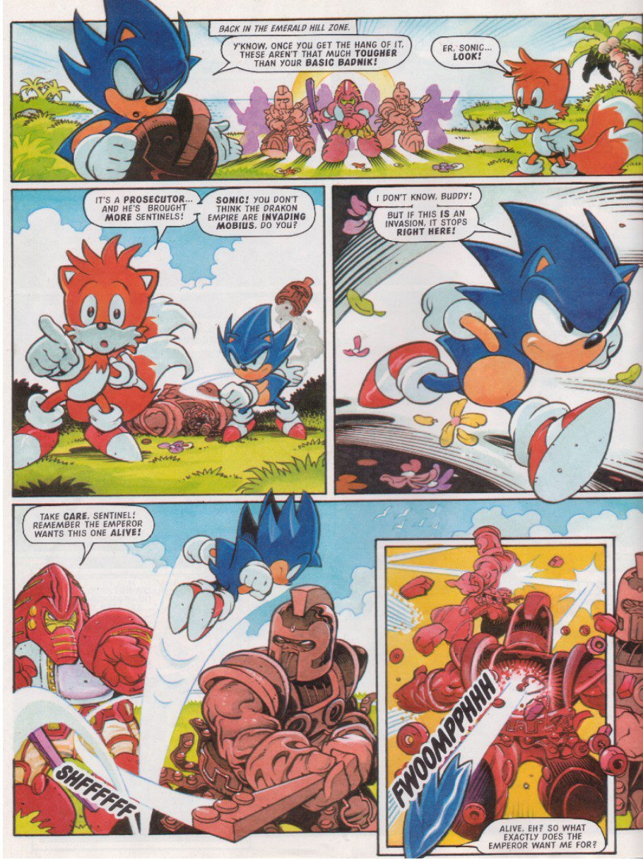 Read online Sonic the Comic comic -  Issue #117 - 6