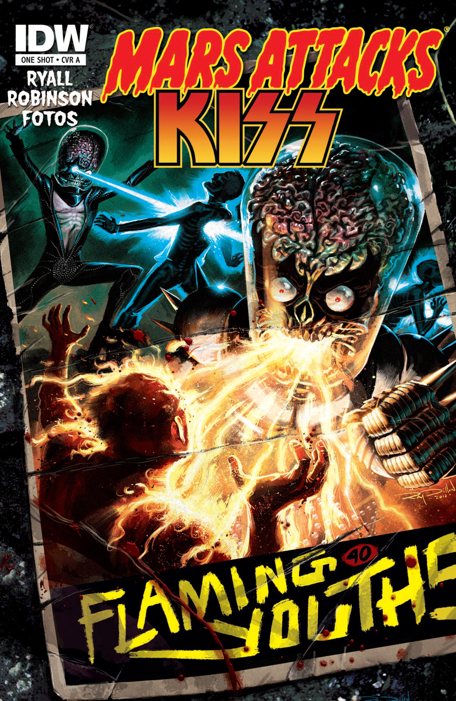 Mars Attacks Kiss Full Viewcomic Reading Comics Online For Free 2019