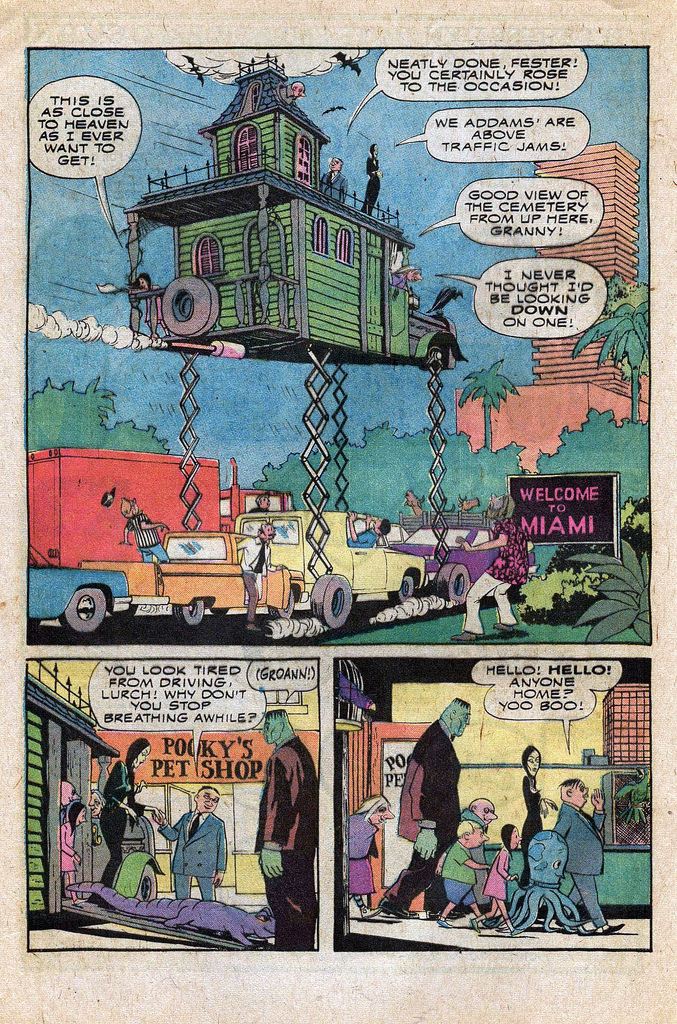 Read online Addams Family comic -  Issue #1 - 35