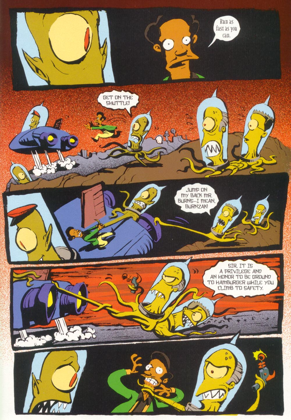 Read online Treehouse of Horror comic -  Issue #5 - 39