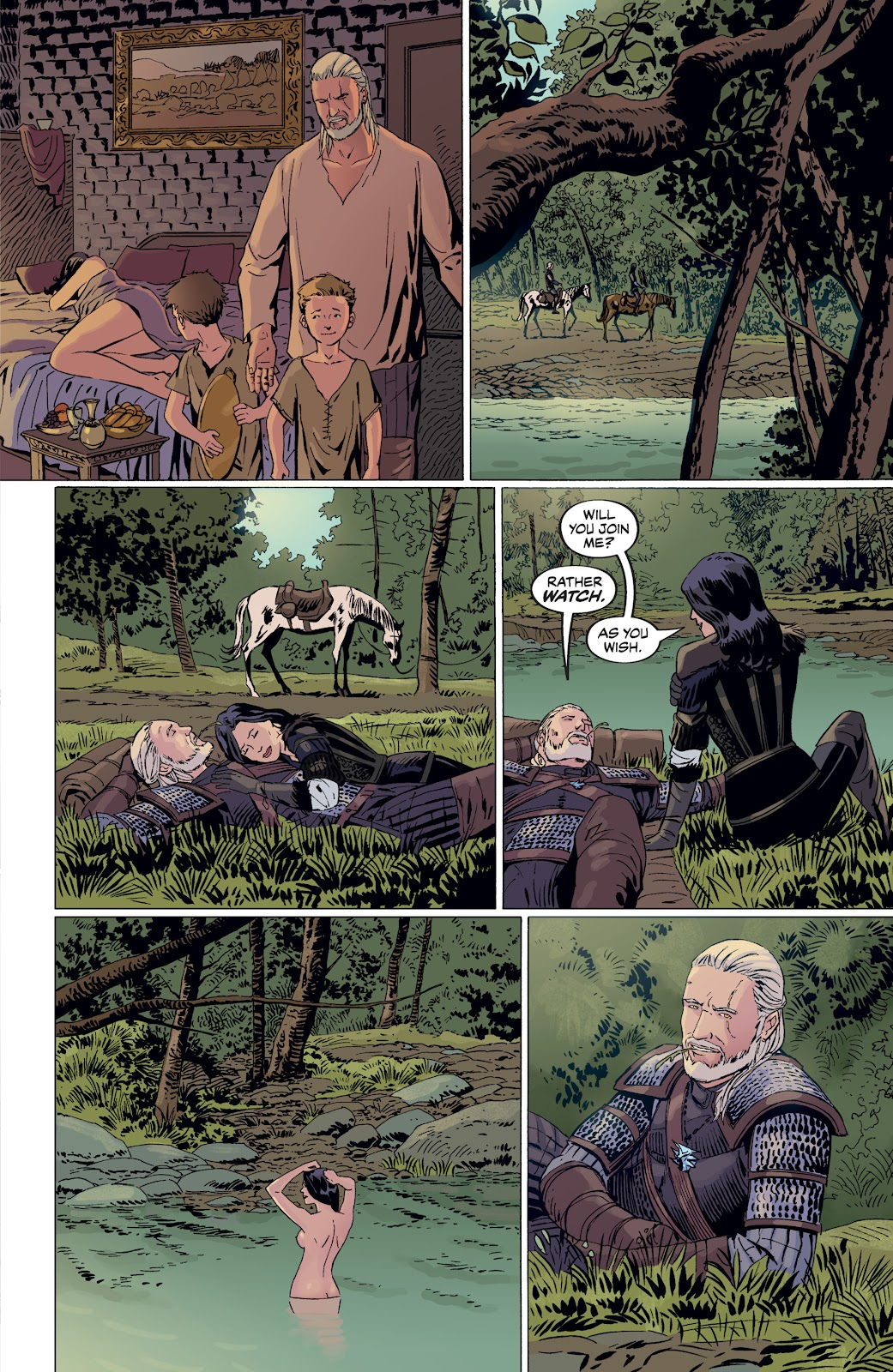 Read online The Witcher Omnibus comic -  Issue # TPB (Part 4) - 82