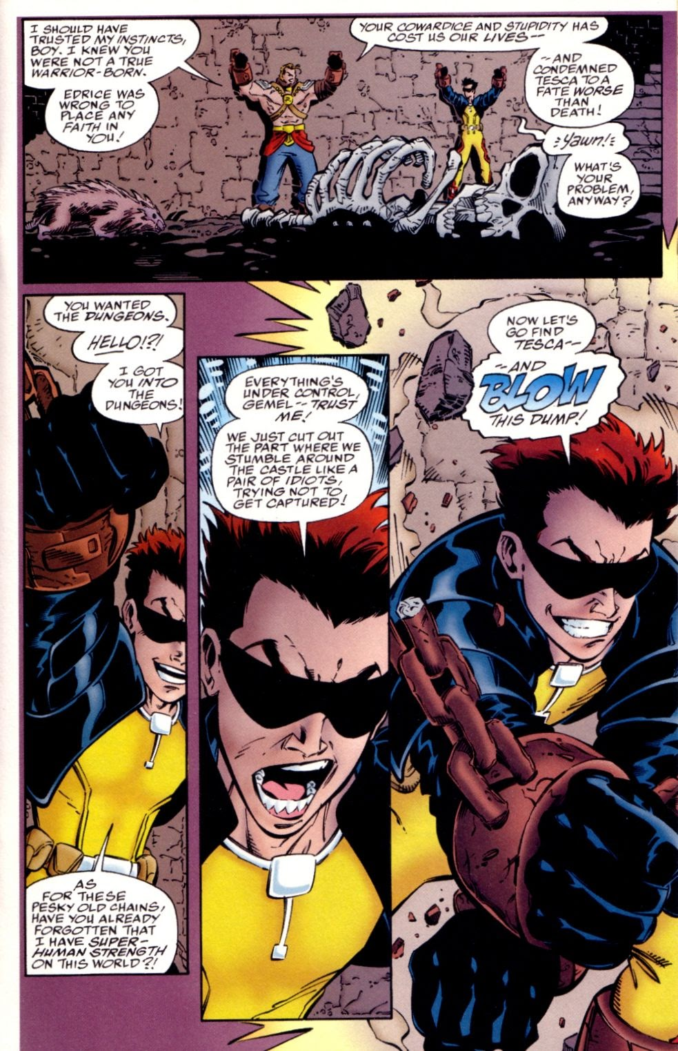 Read online Randy O'Donnell is The M@N comic -  Issue #2 - 14