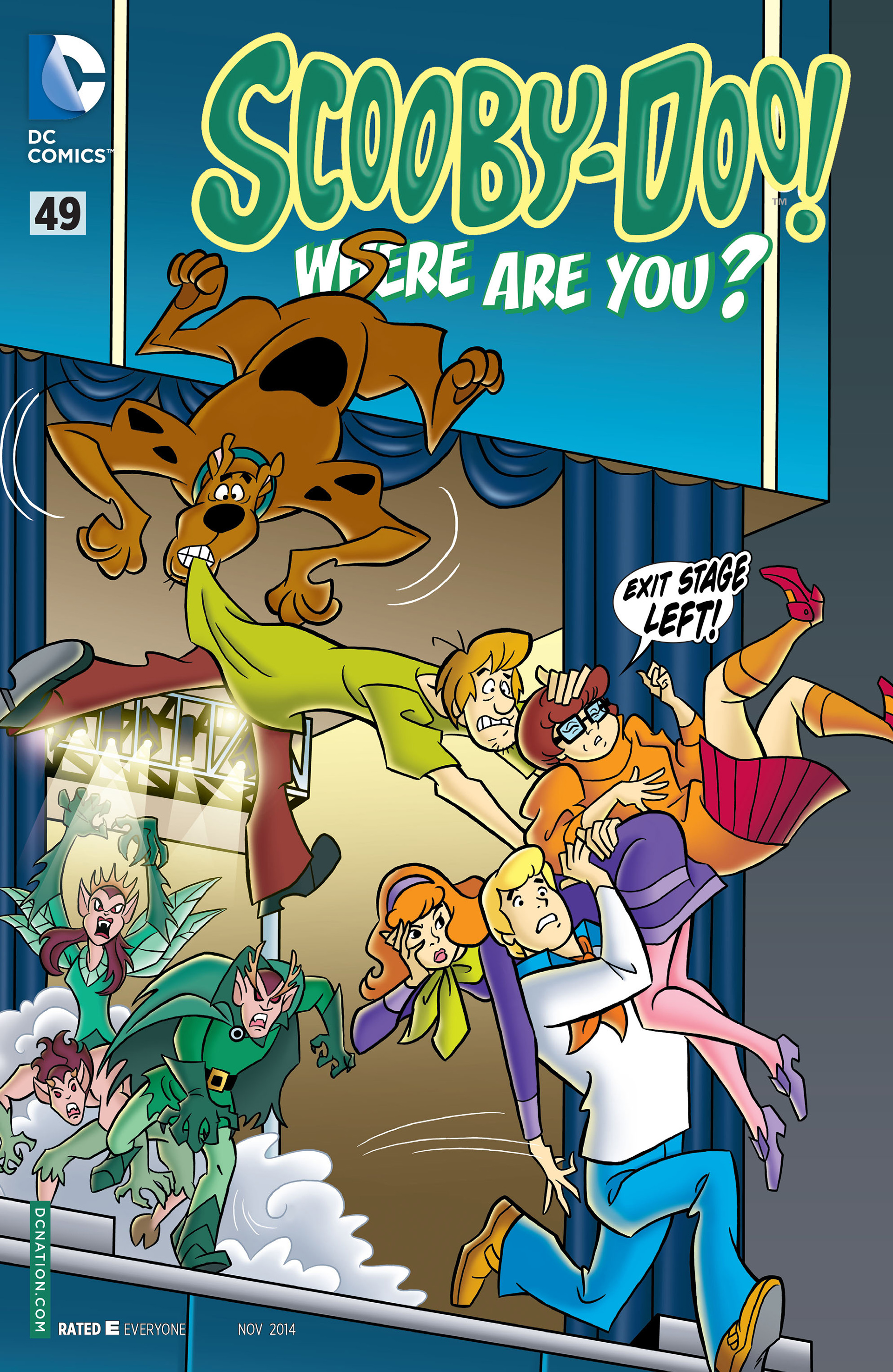 Read online Scooby-Doo: Where Are You? comic -  Issue #49 - 1