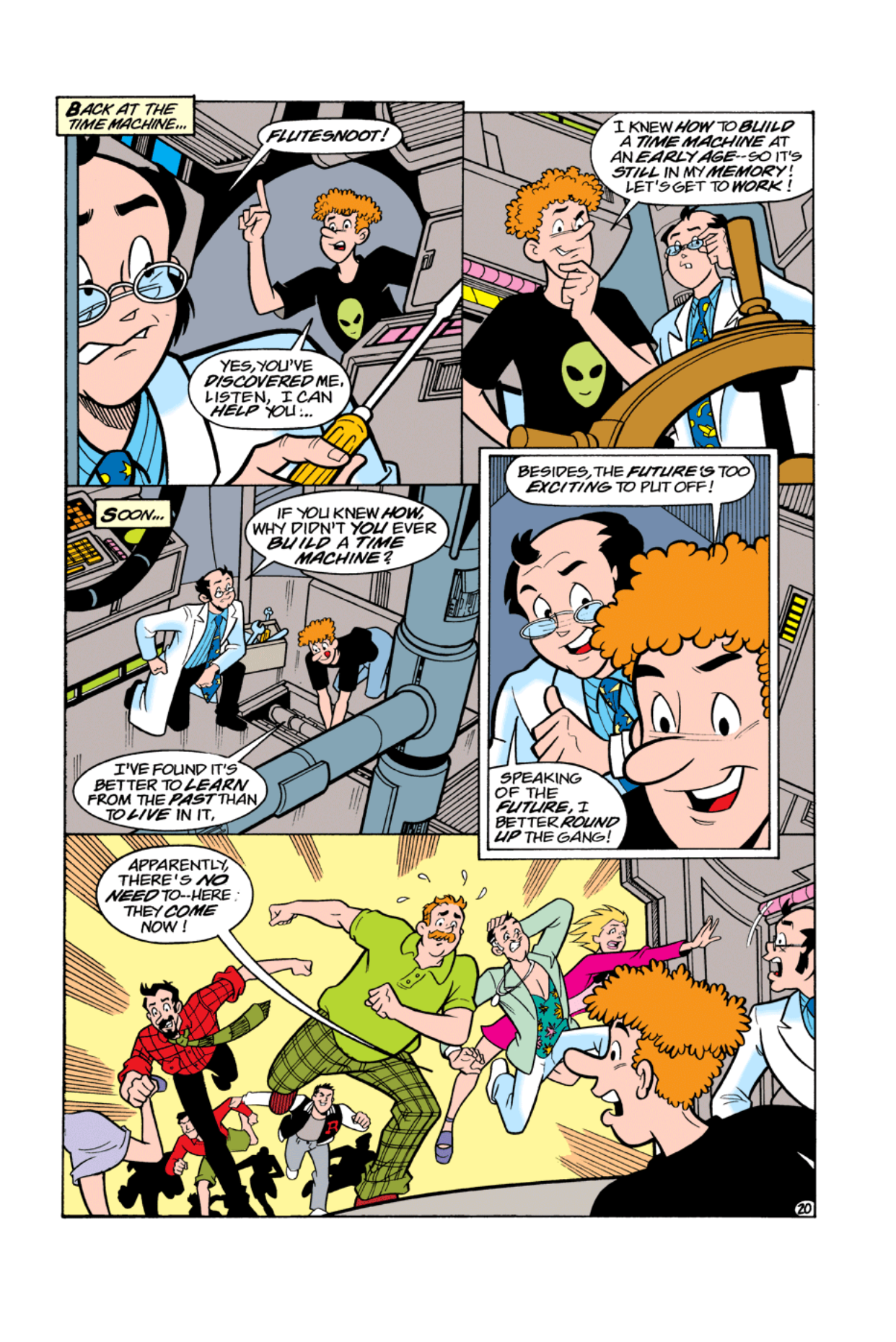 Read online Archie's Weird Mysteries comic -  Issue #5 - 21