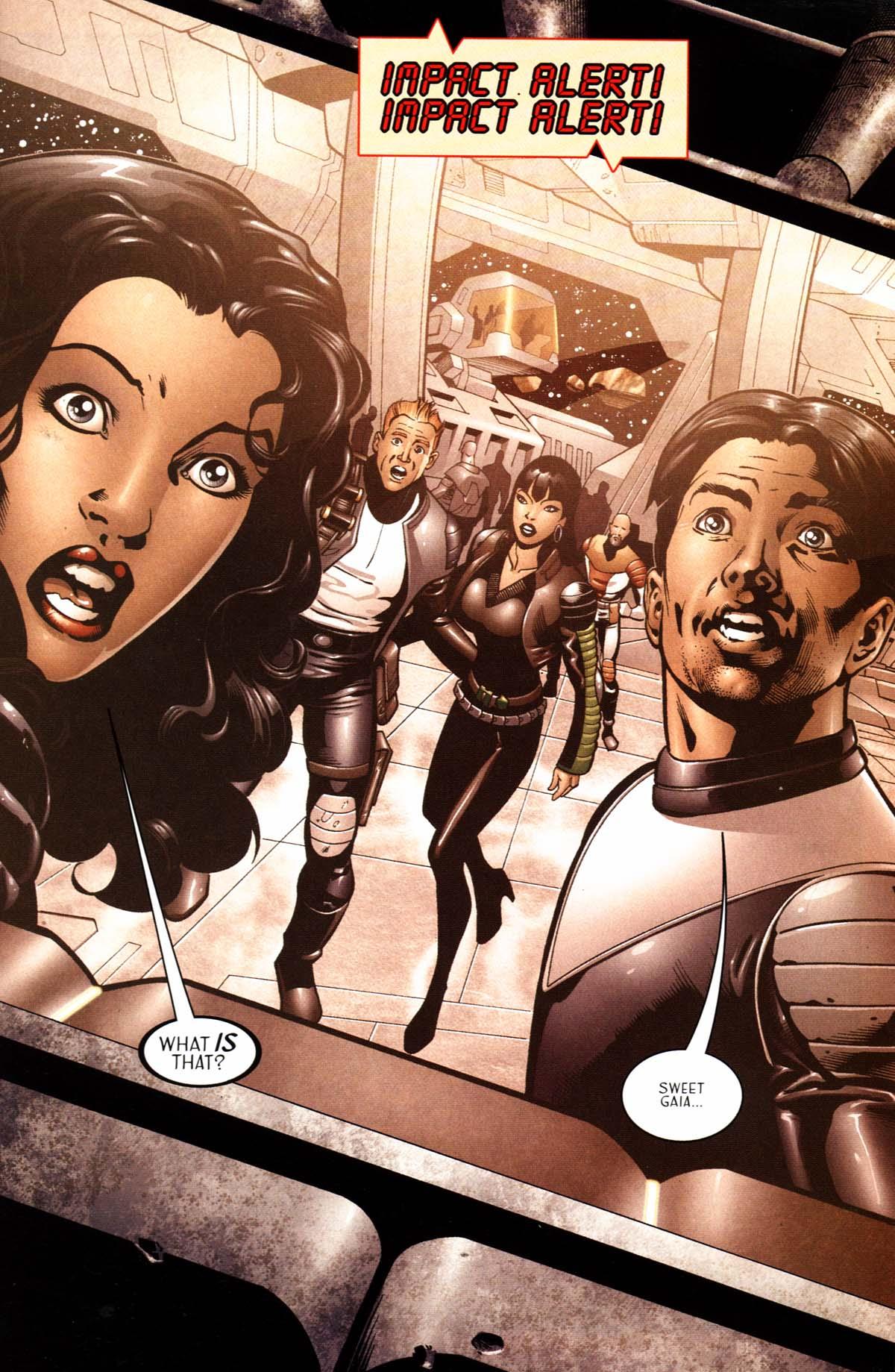 Read online Sigil (2000) comic -  Issue #23 - 3