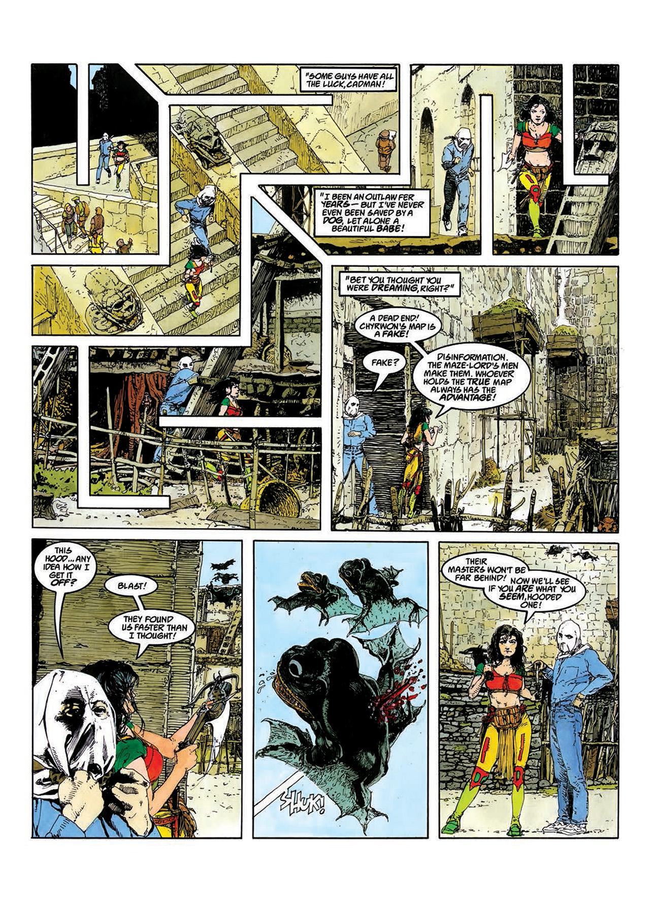 Read online Mazeworld comic -  Issue # TPB - 14