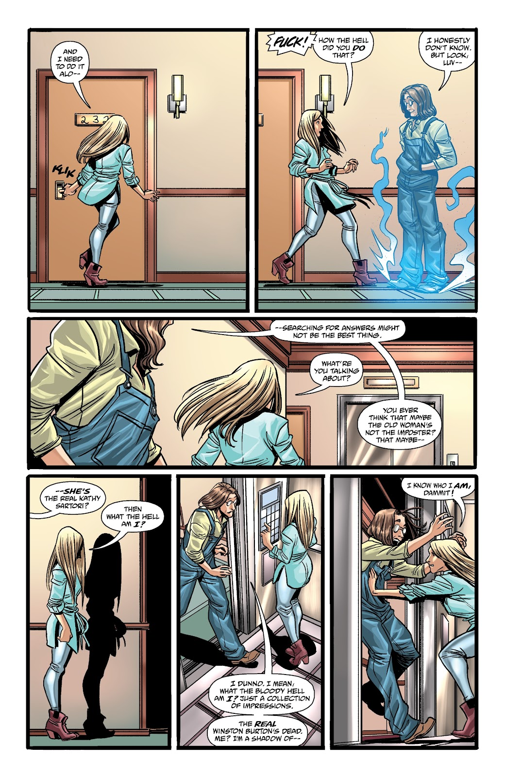 Read online The Girl In The Bay comic -  Issue #3 - 15