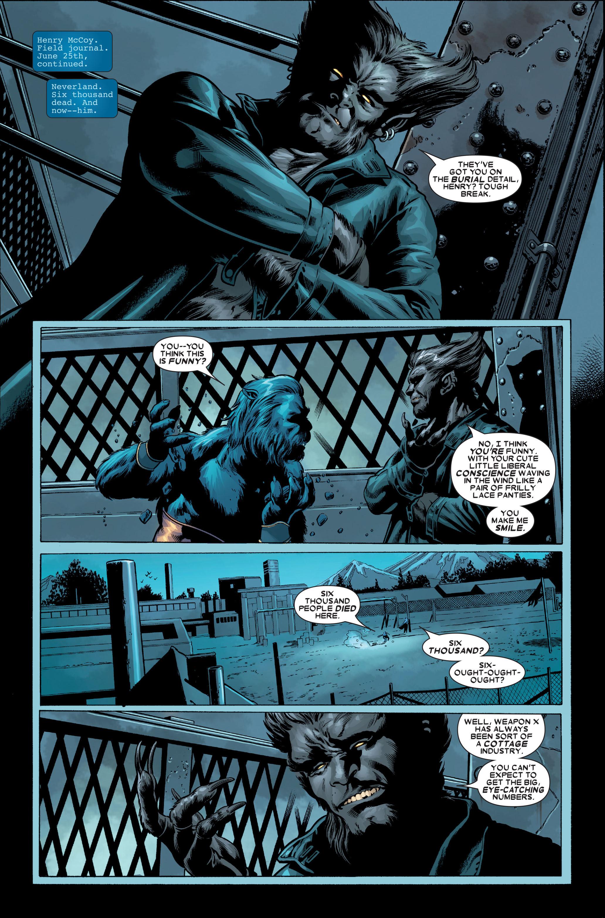 Read online Uncanny X-Men (1963) comic -  Issue #489 - 26