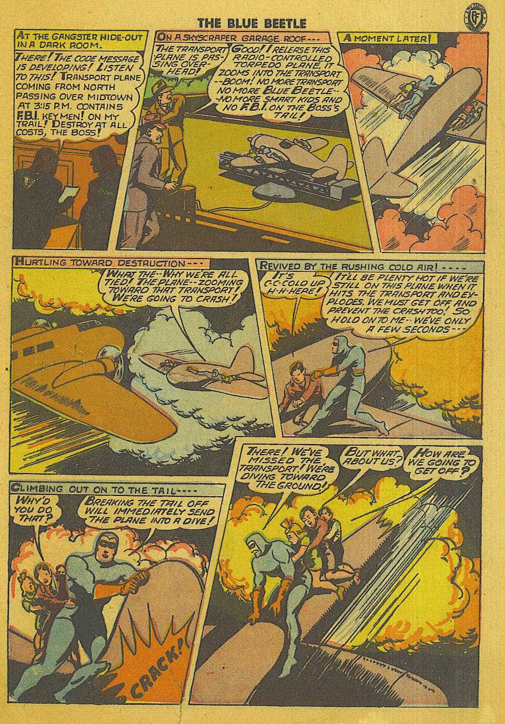 The Blue Beetle issue 35 - Page 40