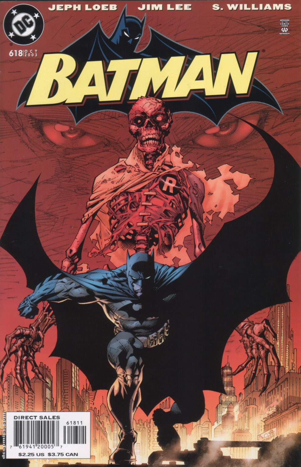Read online Batman: Hush comic -  Issue #11 - 1