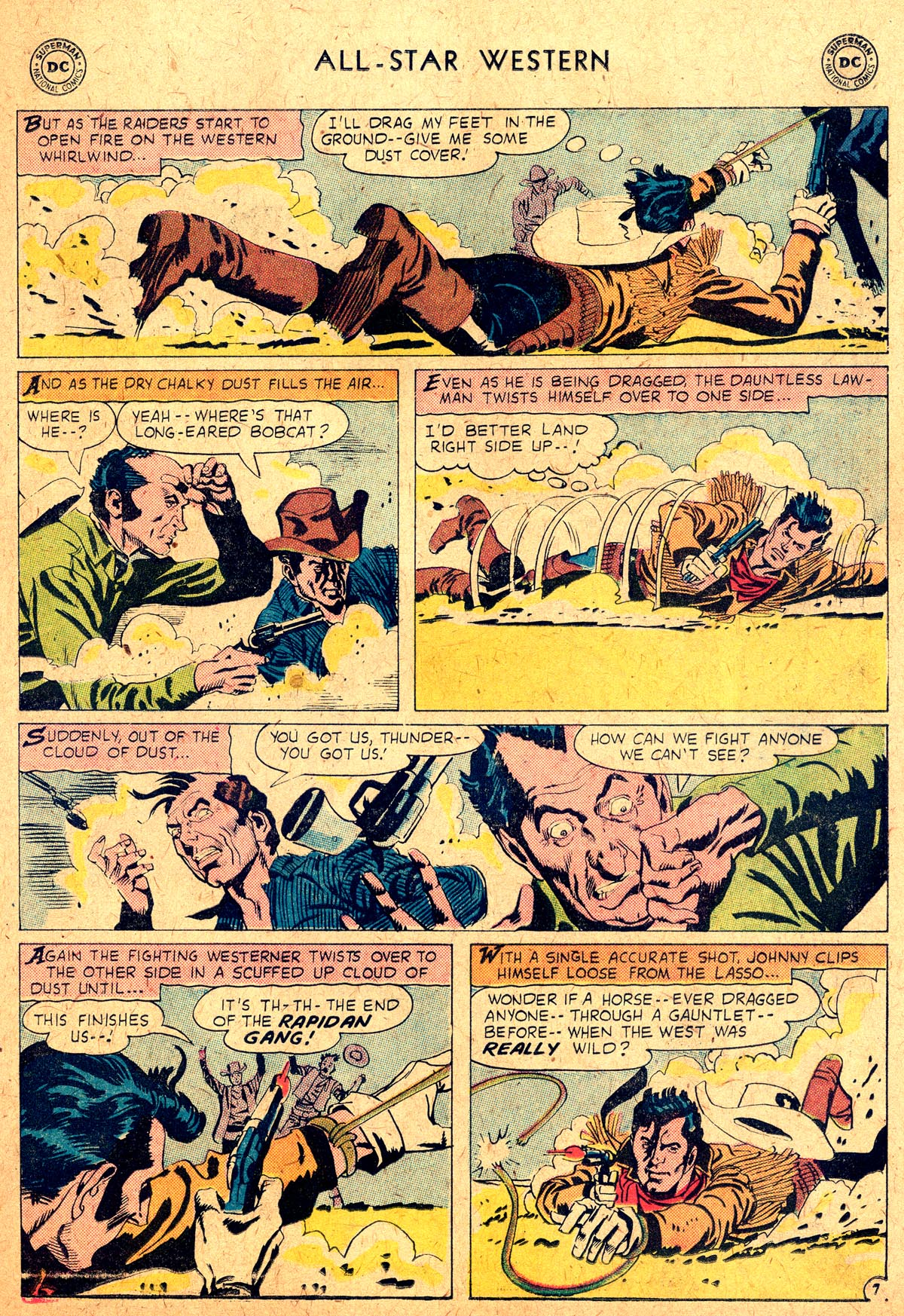 Read online All-Star Western (1951) comic -  Issue #104 - 31