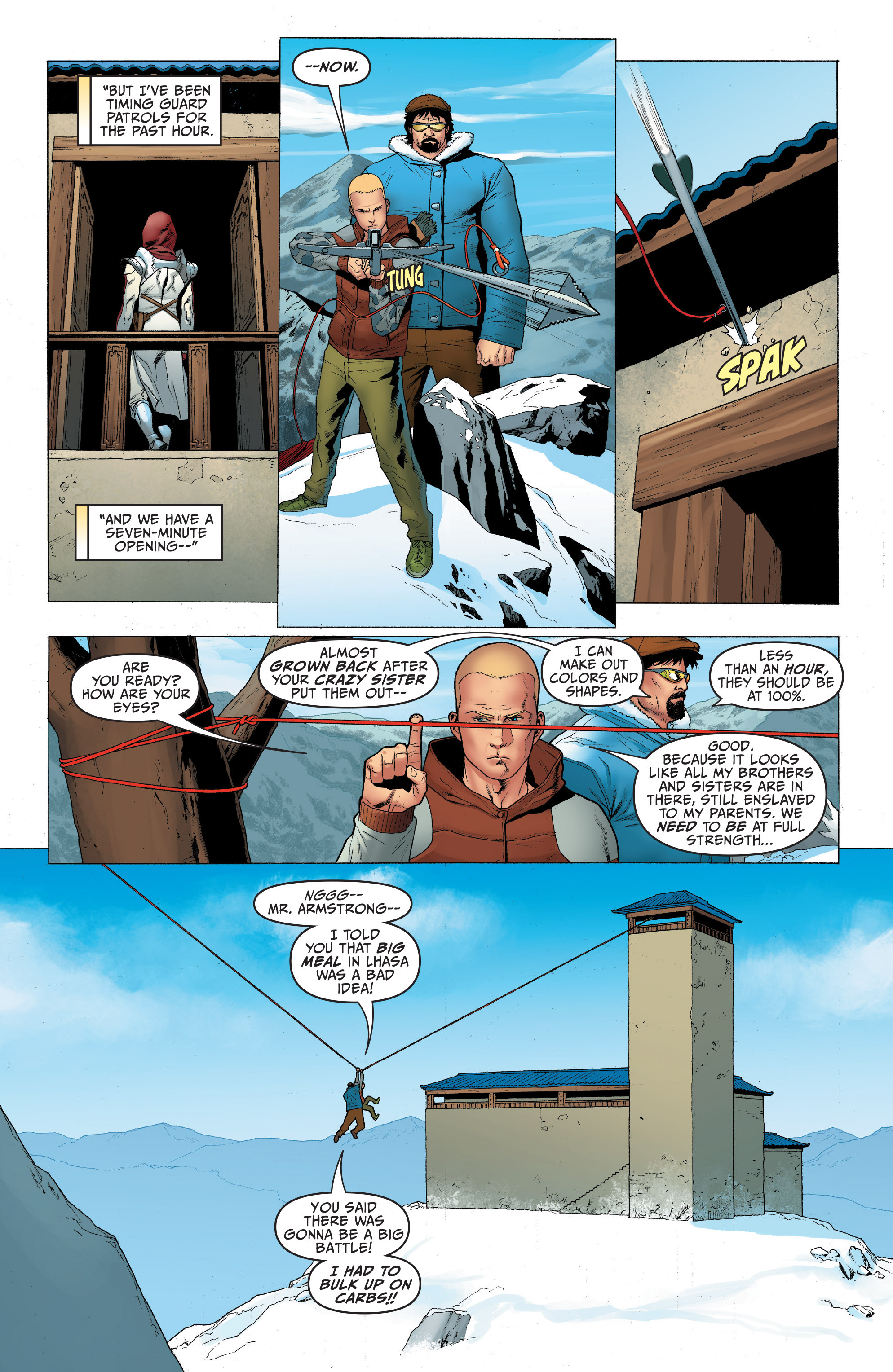 Read online Archer and Armstrong comic -  Issue #4 - 7