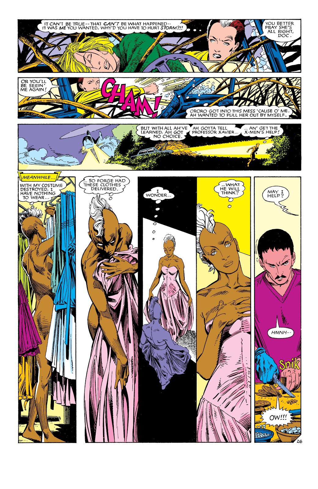Uncanny X-Men (1963) issue 186 - Page 27
