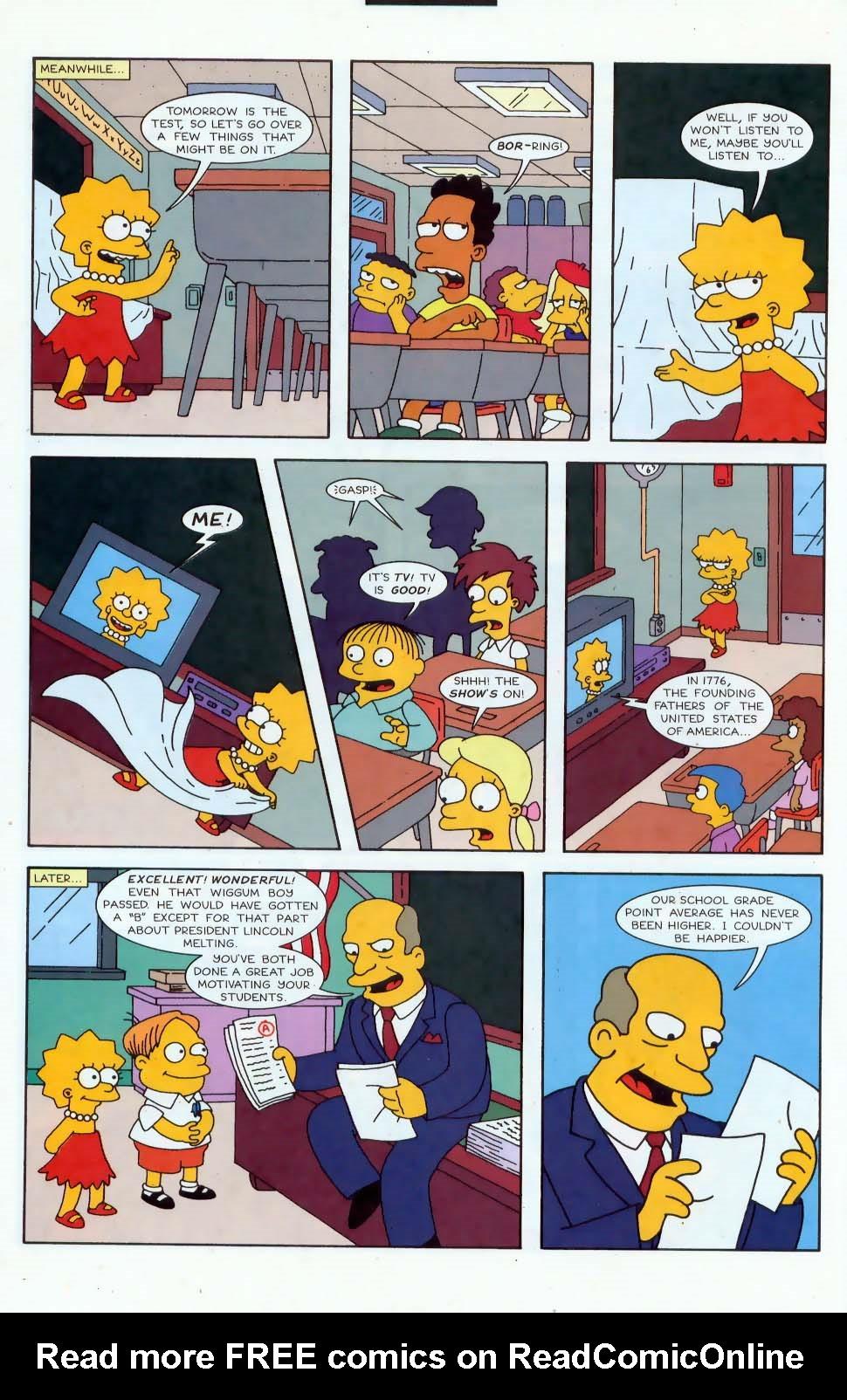Read online Simpsons Comics comic -  Issue #44 - 21