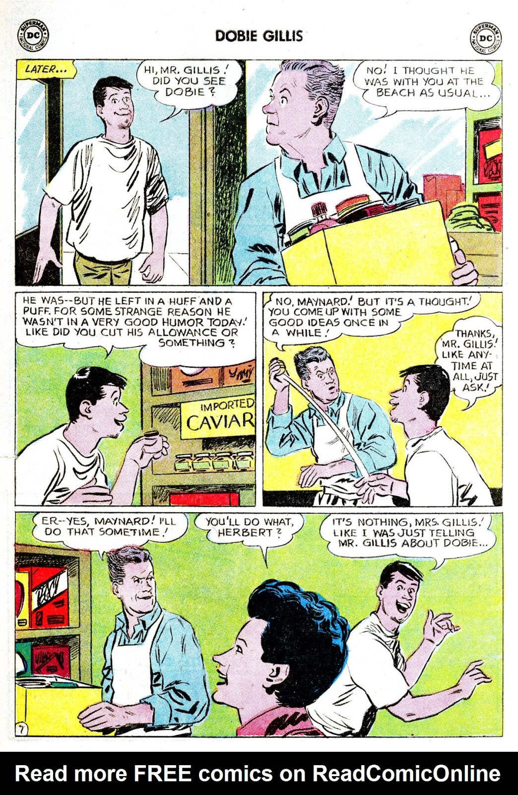 Many Loves of Dobie Gillis issue 21 - Page 9