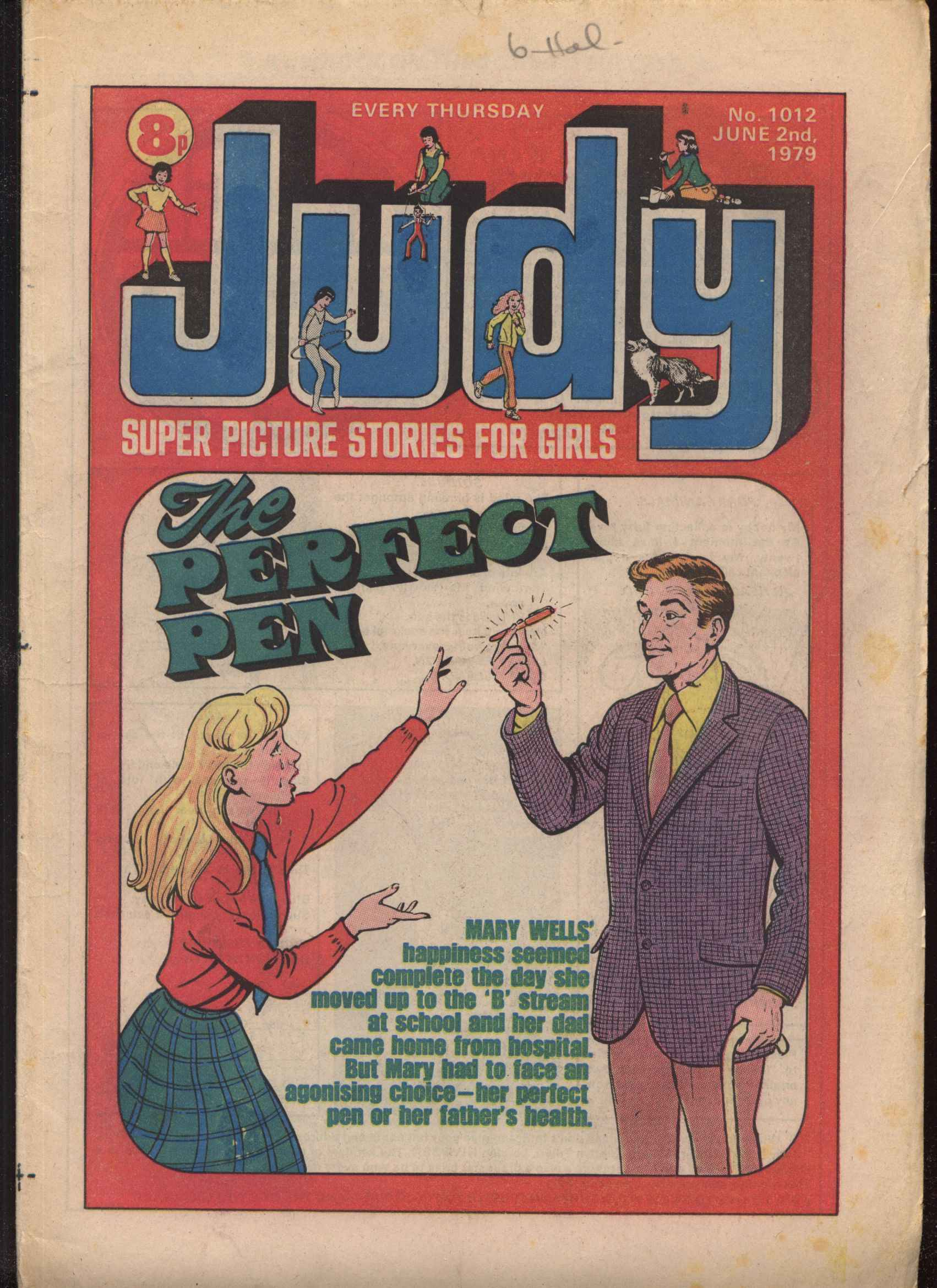 Read online Judy comic -  Issue #12 - 1