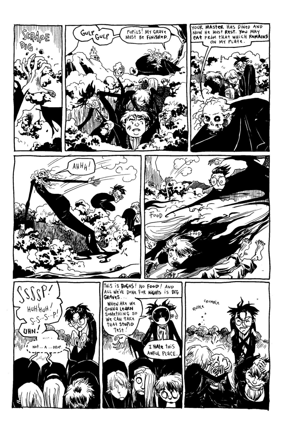 Read online Scary Godmother Comic Book Stories comic -  Issue # TPB - 190
