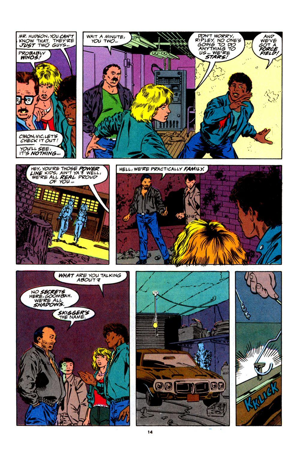 Read online Powerline comic -  Issue #4 - 16