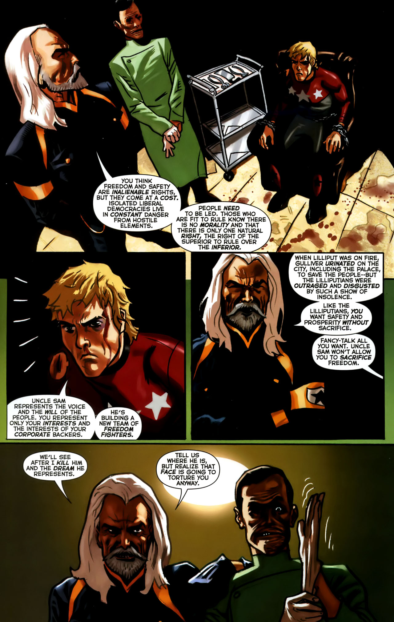 Read online Uncle Sam and the Freedom Fighters (2006) comic -  Issue #1 - 18