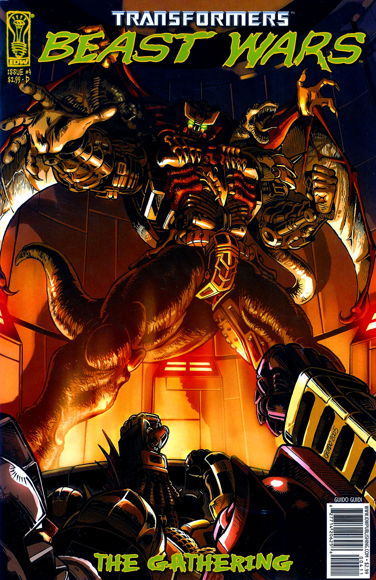 Read online Transformers, Beast Wars: The Gathering comic -  Issue #4 - 4