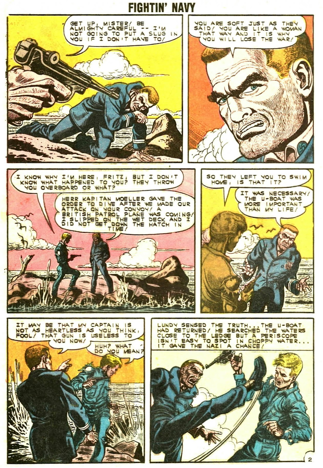 Read online Fightin' Navy comic -  Issue #107 - 4