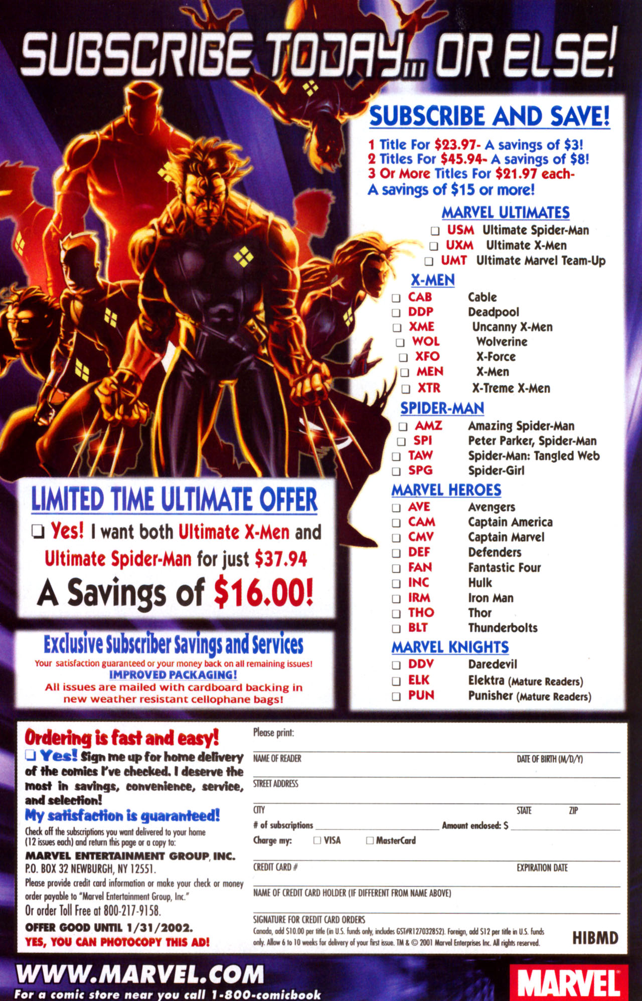 Read online Ultimate Marvel Team-Up comic -  Issue #9 - 29